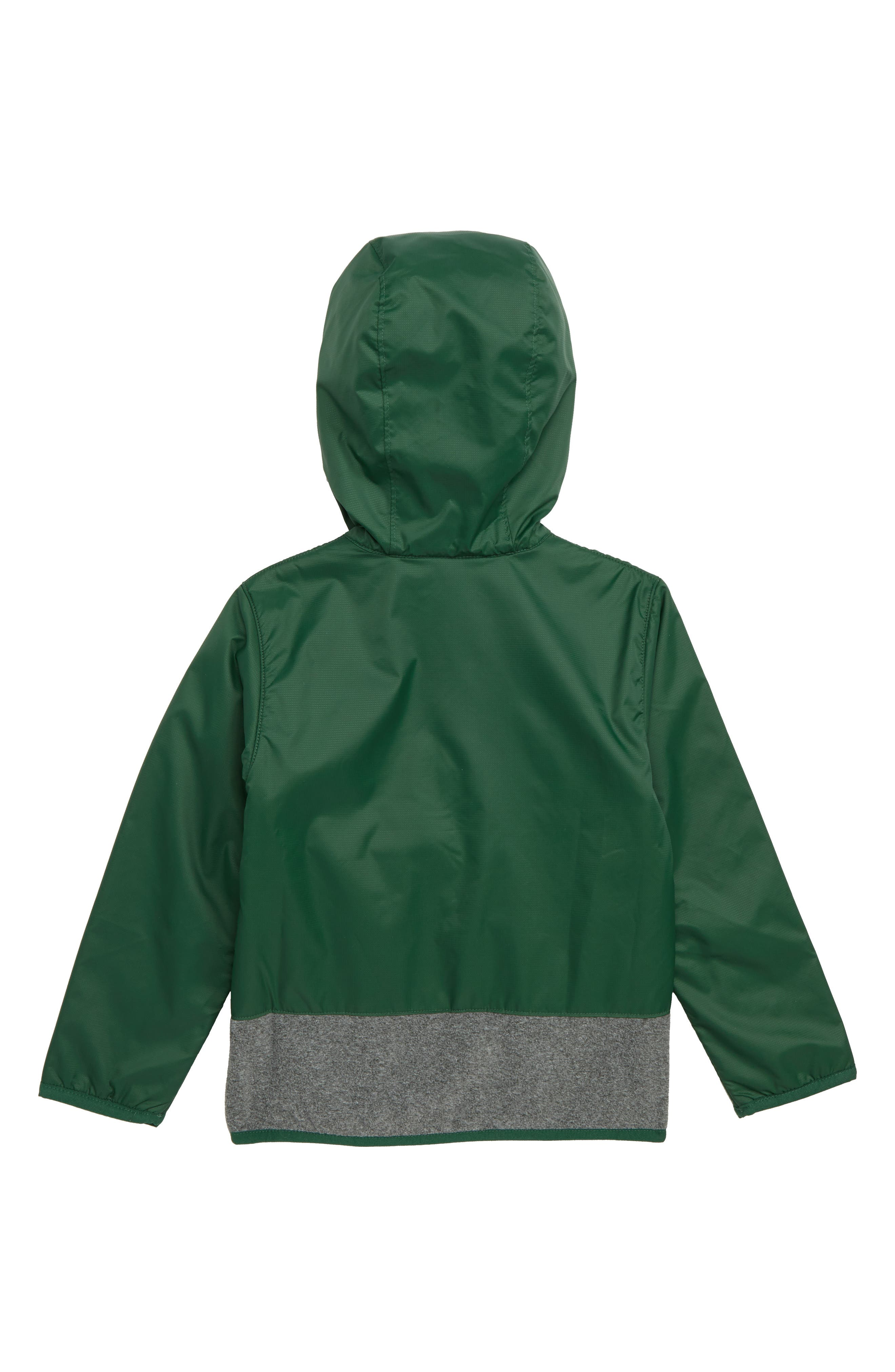 Mountain Side<sup>™</sup> Fleece Jacket,                             Alternate thumbnail 2, color,                             FOREST GRILL HEATHER