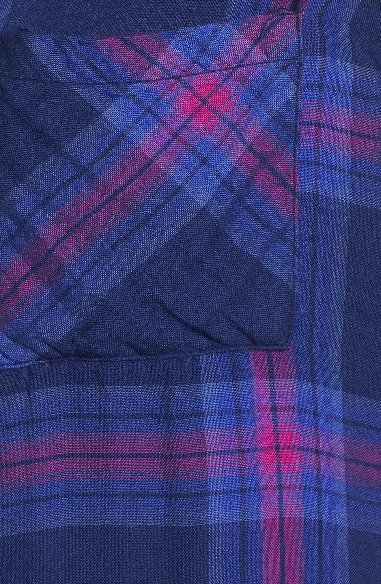 Taitum Plaid Shirt,                             Alternate thumbnail 5, color,