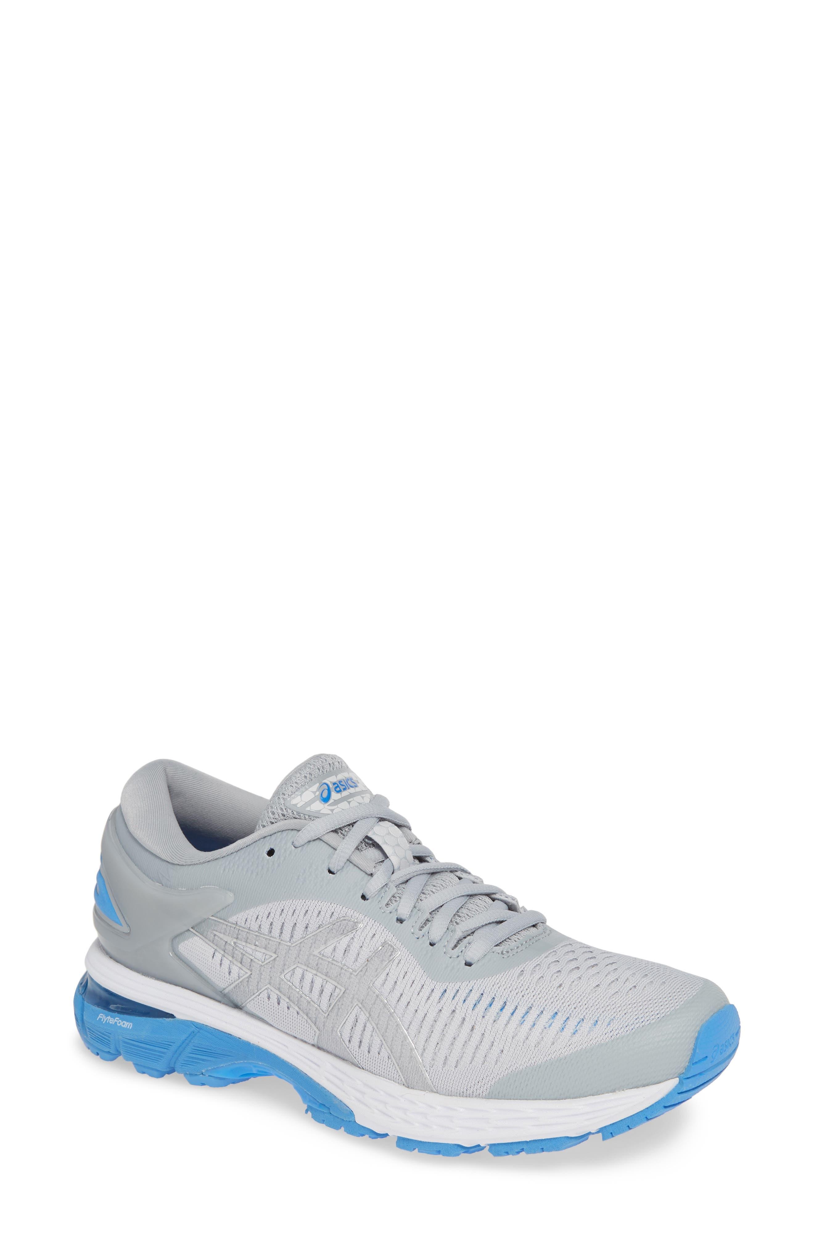 GEL-Kayano<sup>®</sup> 25 Running Shoe,                         Main,                         color, MID GREY/ BLUE