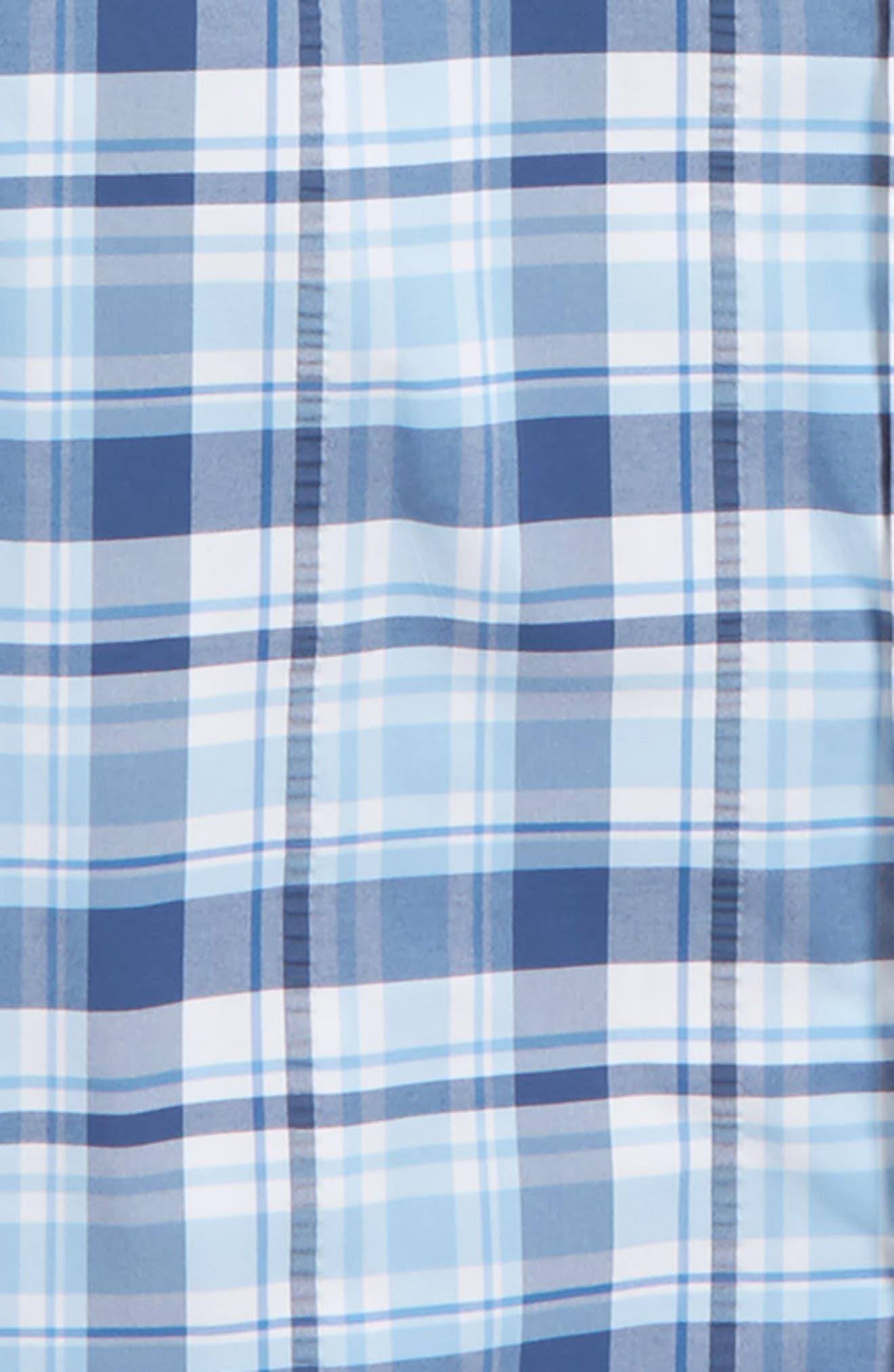 Harbor Plaid Shirt,                             Alternate thumbnail 2, color,