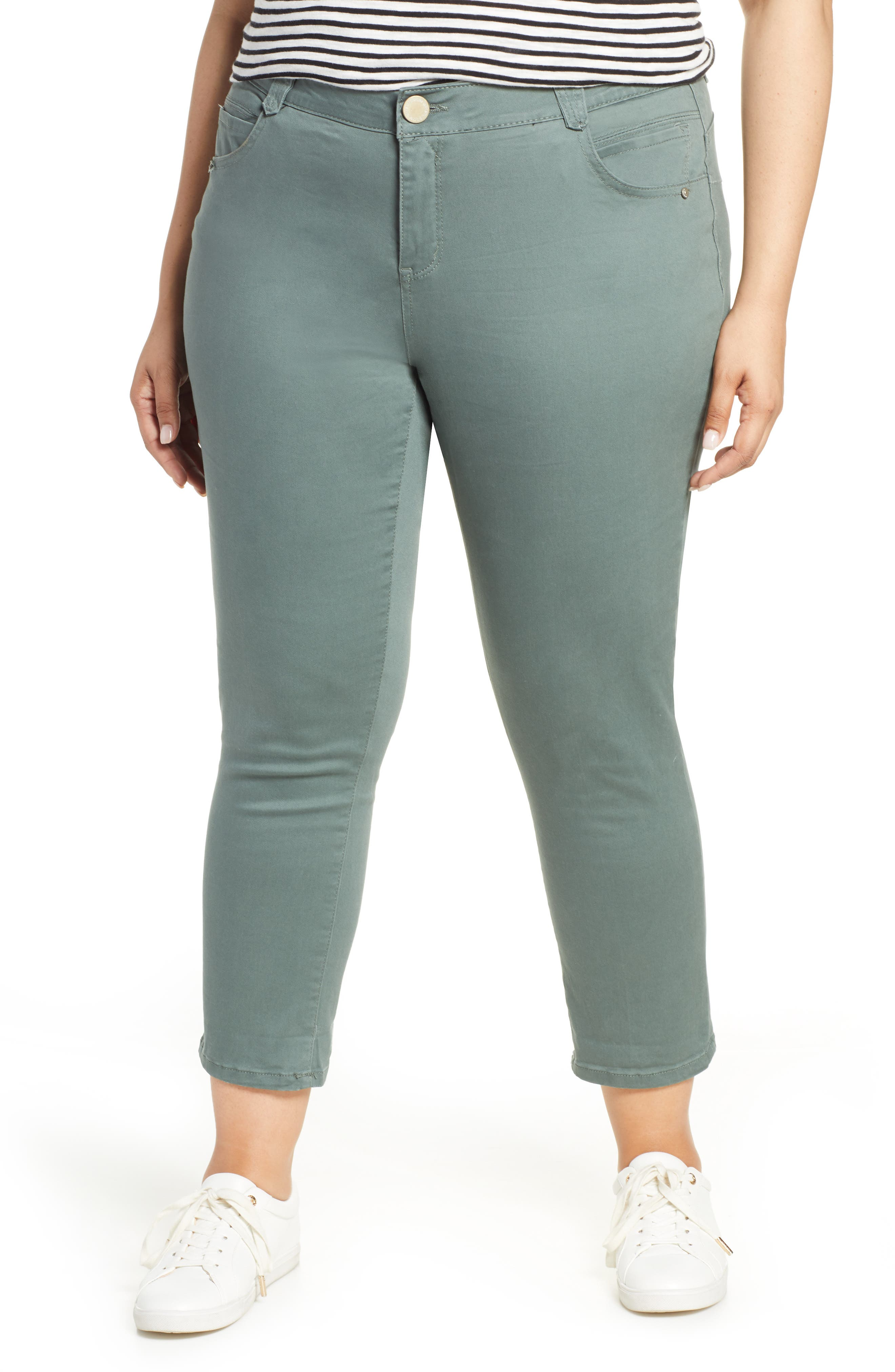 Plus Women's Wit & Wisdom Ab-Solution Ankle Skimmer Jeans