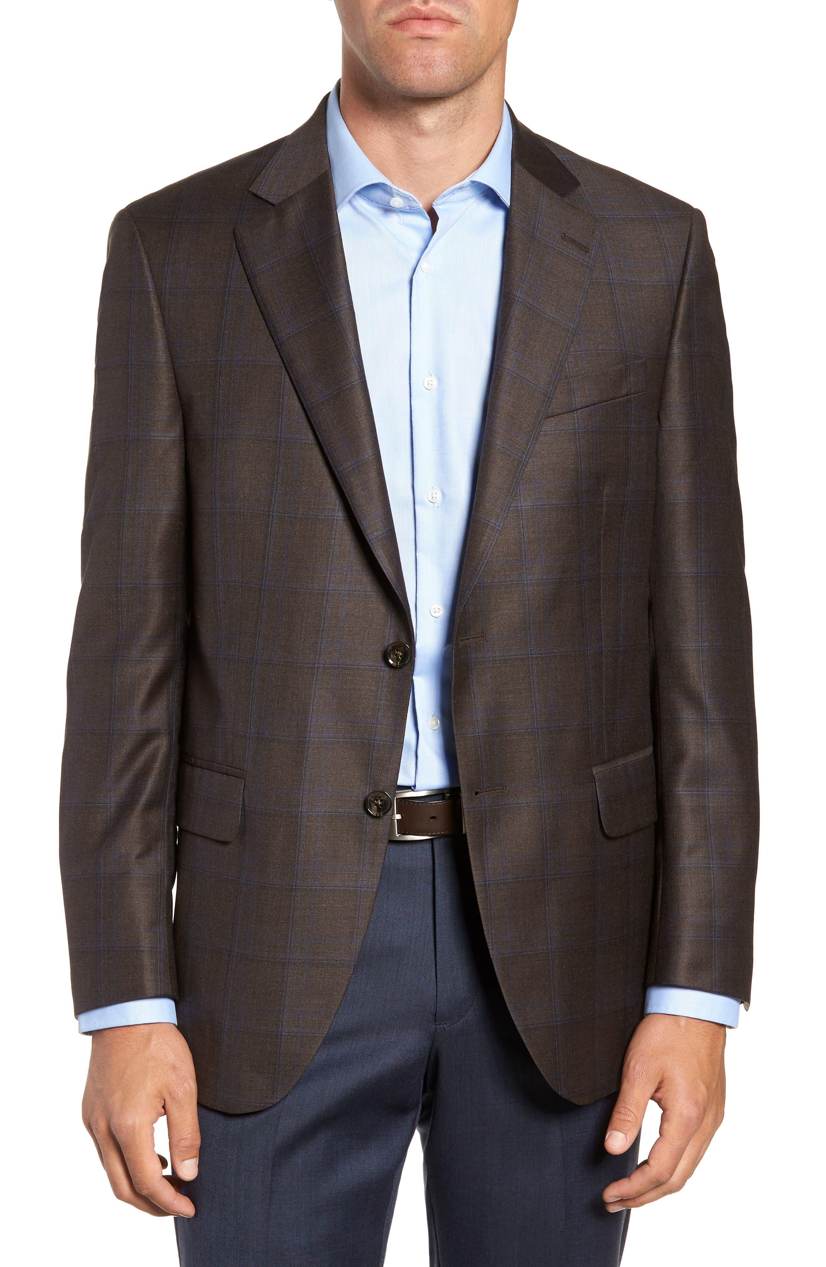 Flynn Classic Fit Wool Sport Coat,                         Main,                         color, 200