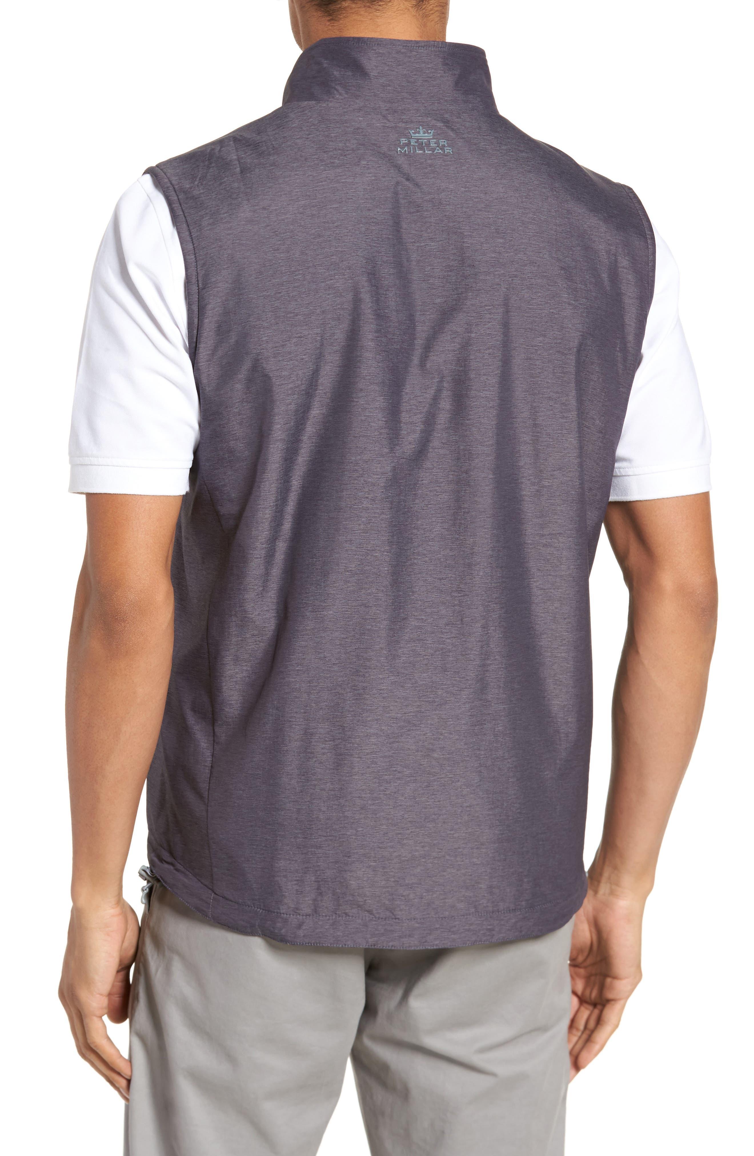 Carthage Reversible Vest,                             Alternate thumbnail 3, color,                             BLACK