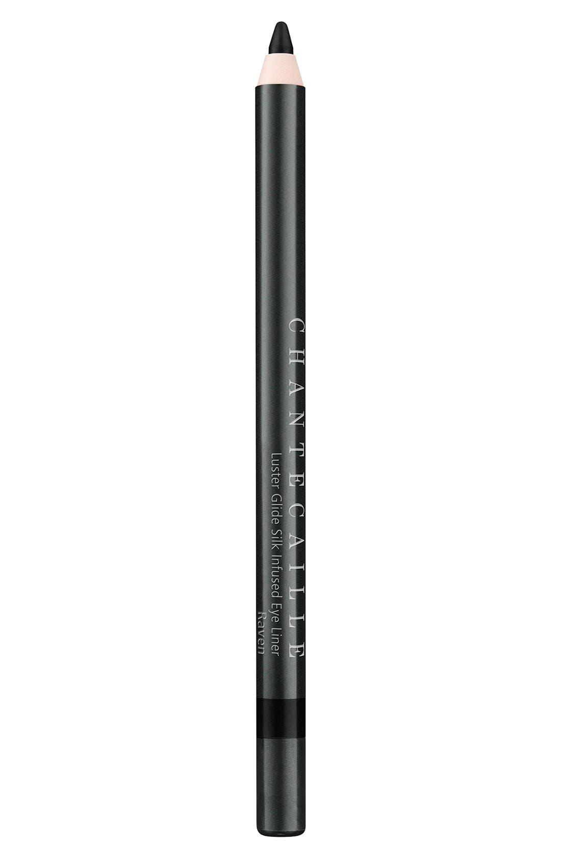 Luster Glide Silk Infused Eyeliner,                             Main thumbnail 1, color,                             RAVEN
