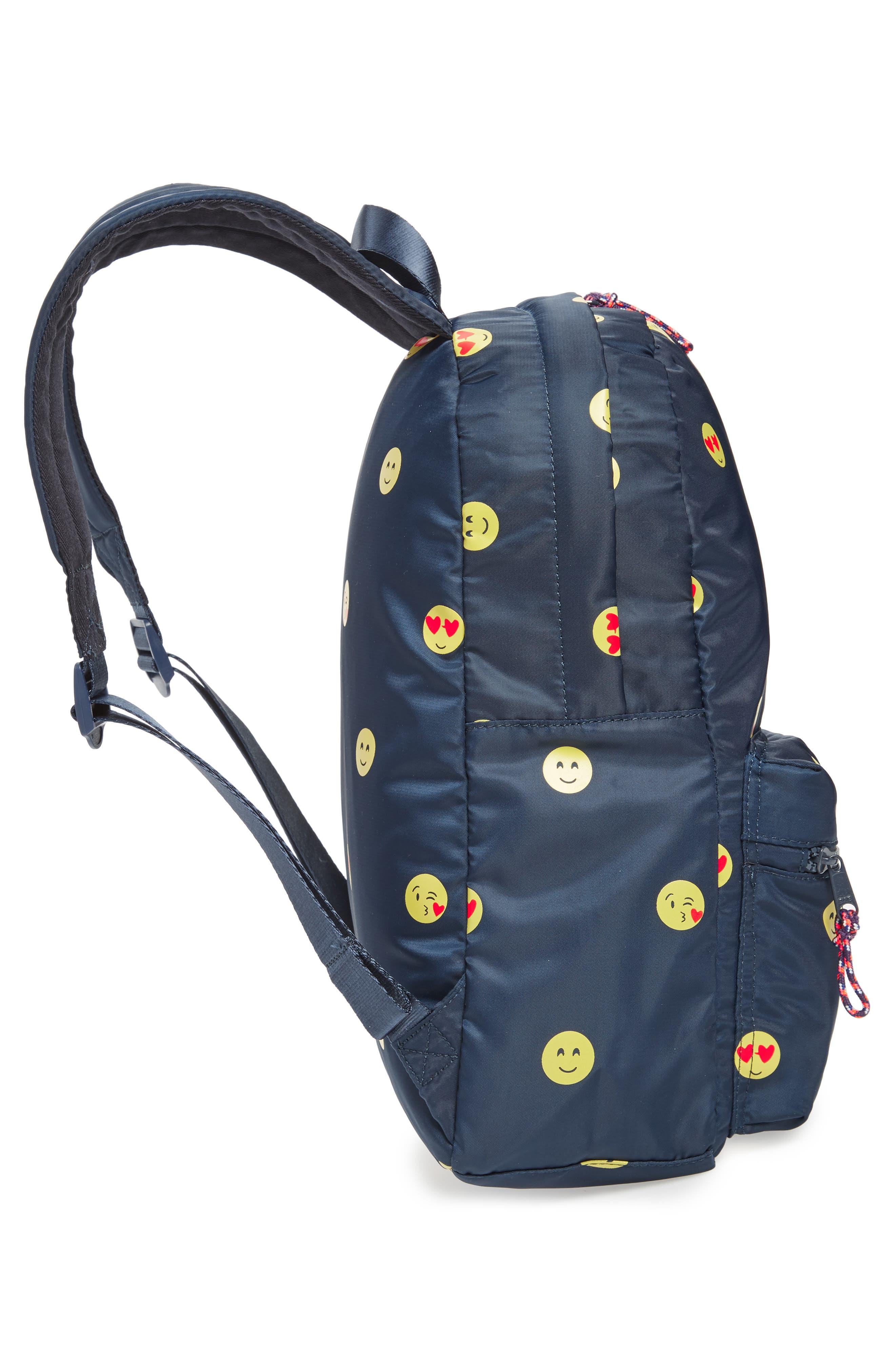 Emoji Backpack,                             Alternate thumbnail 4, color,                             NAVY
