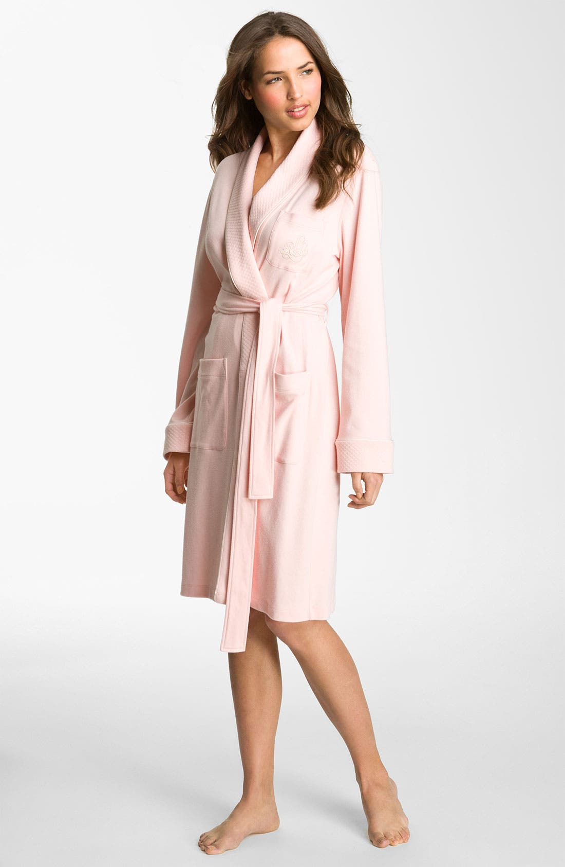 Quilted Collar Robe,                             Main thumbnail 17, color,