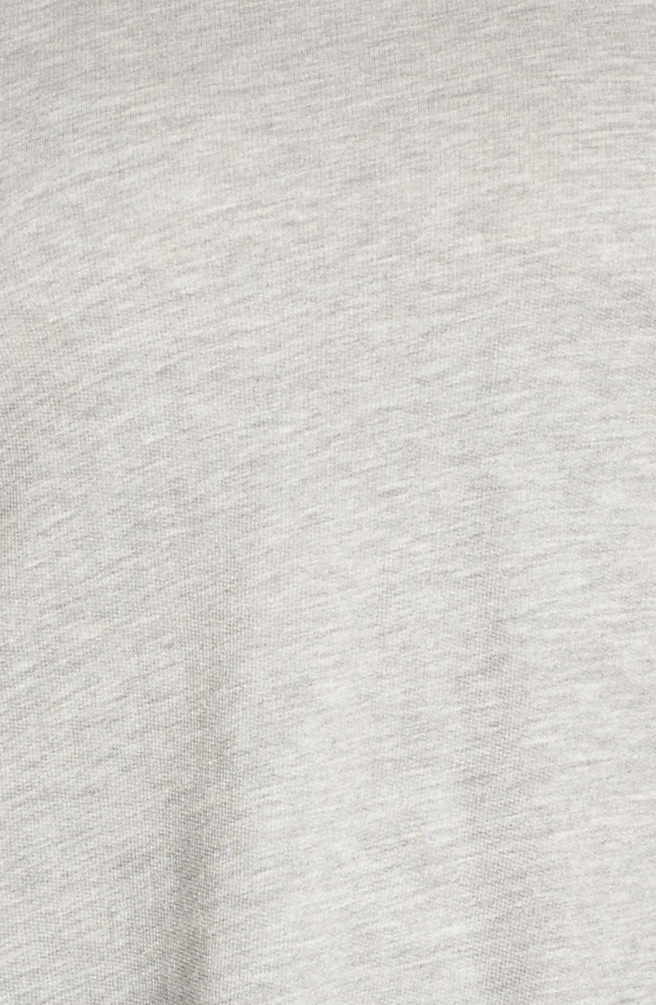 Scrunch Sleeve Sweatshirt,                             Alternate thumbnail 5, color,                             030