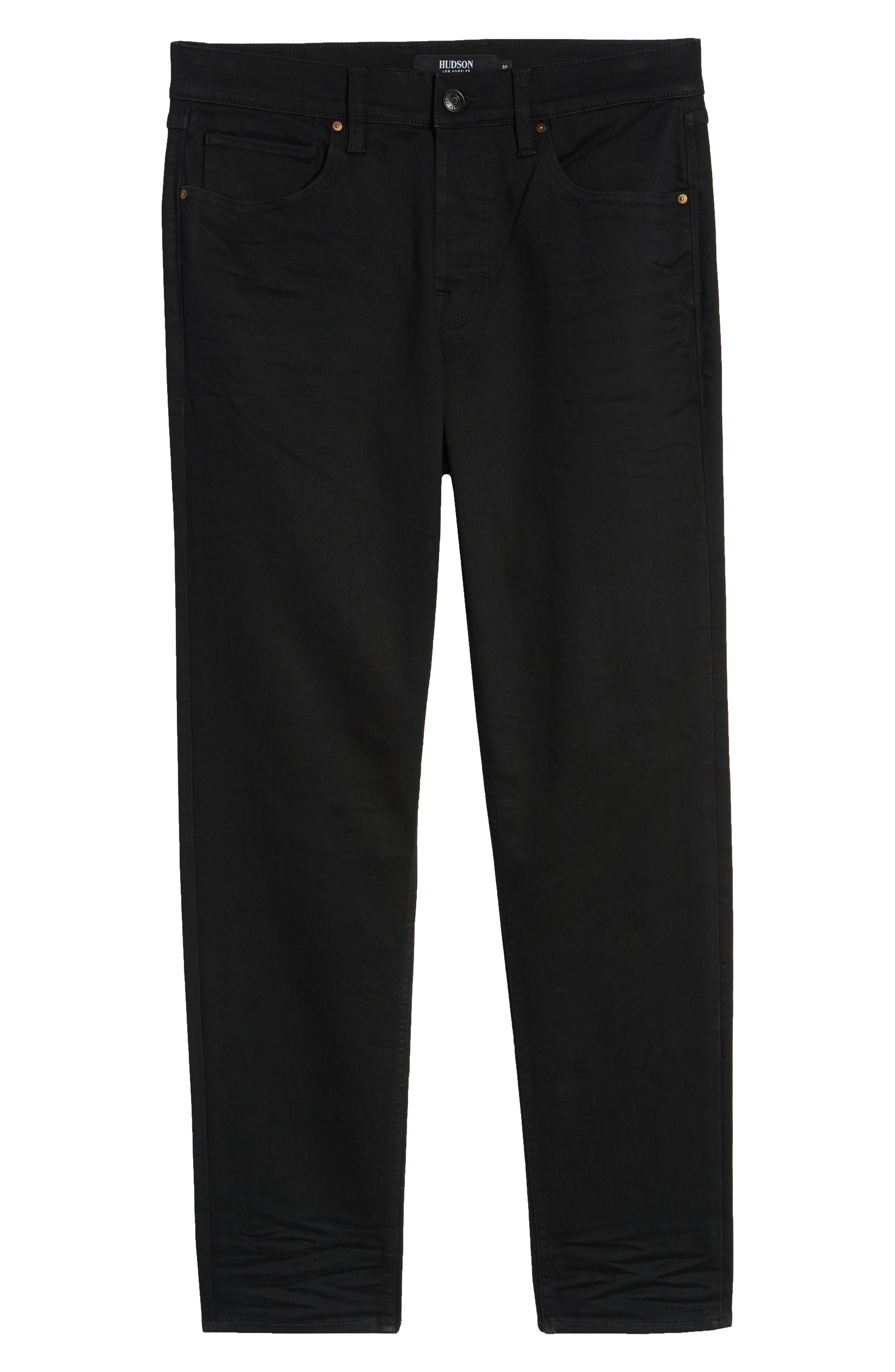 Sartor Slouchy Skinny Fit Jeans,                             Alternate thumbnail 6, color,                             001
