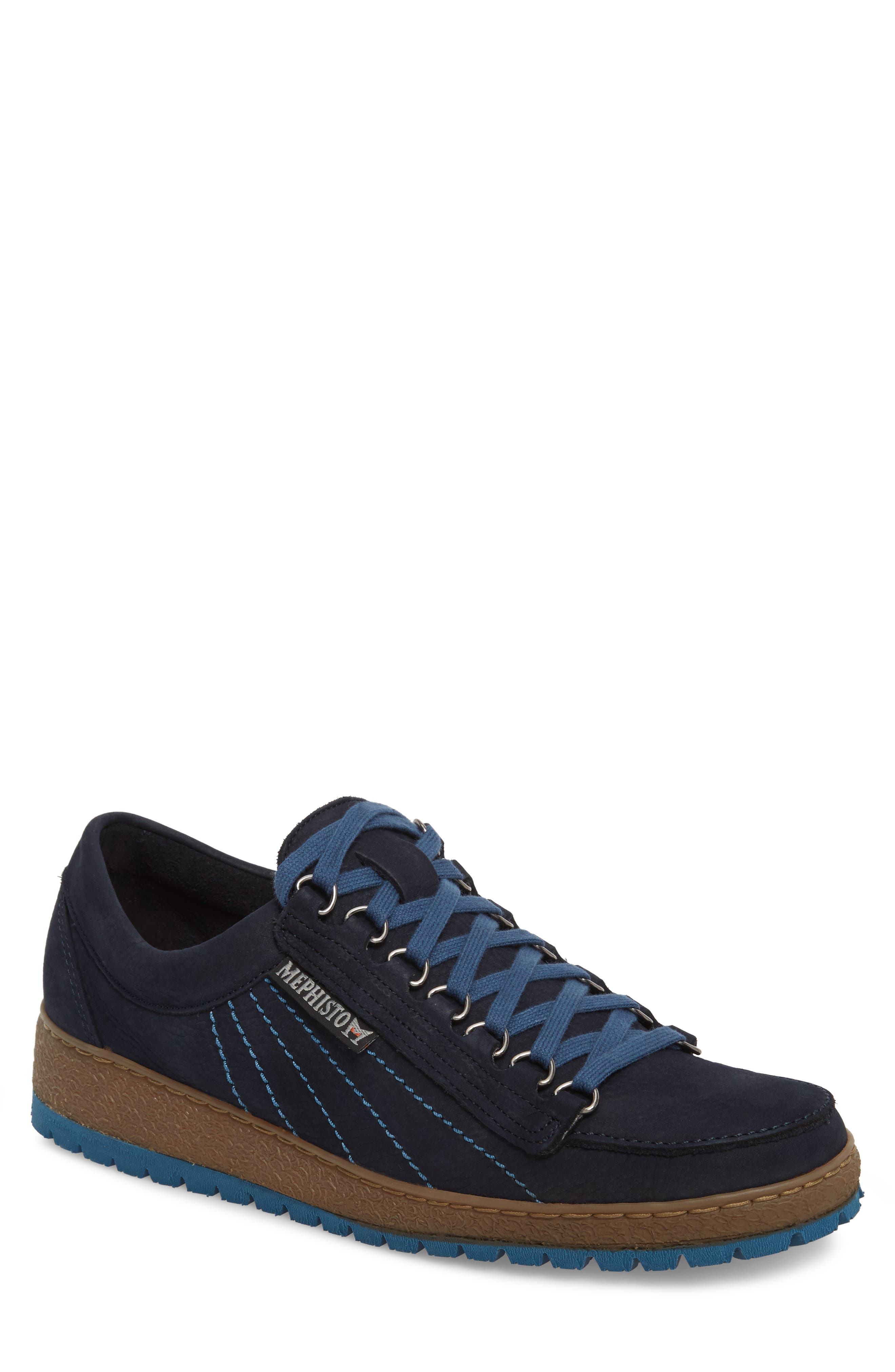 Rainbow Sneaker,                             Main thumbnail 1, color,                             NAVY BLUE SUEDE