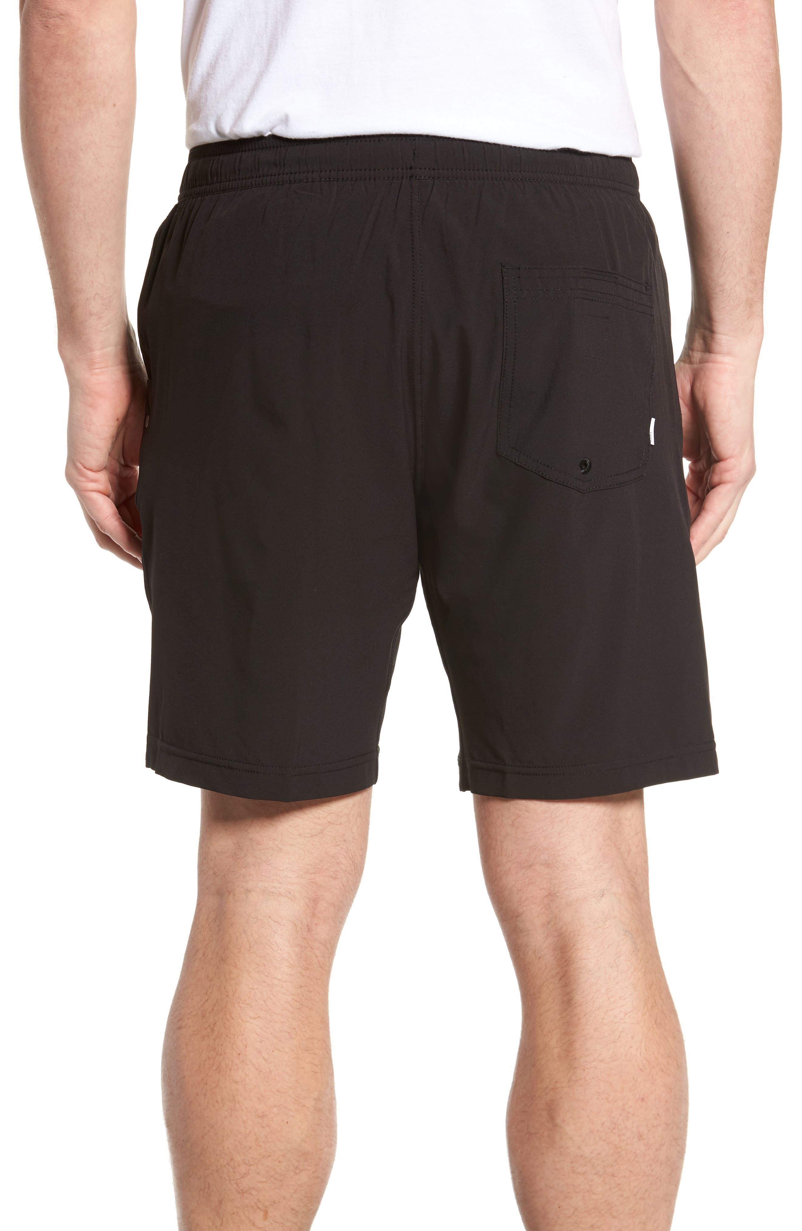 Kore Shorts,                             Alternate thumbnail 2, color,                             BLACK