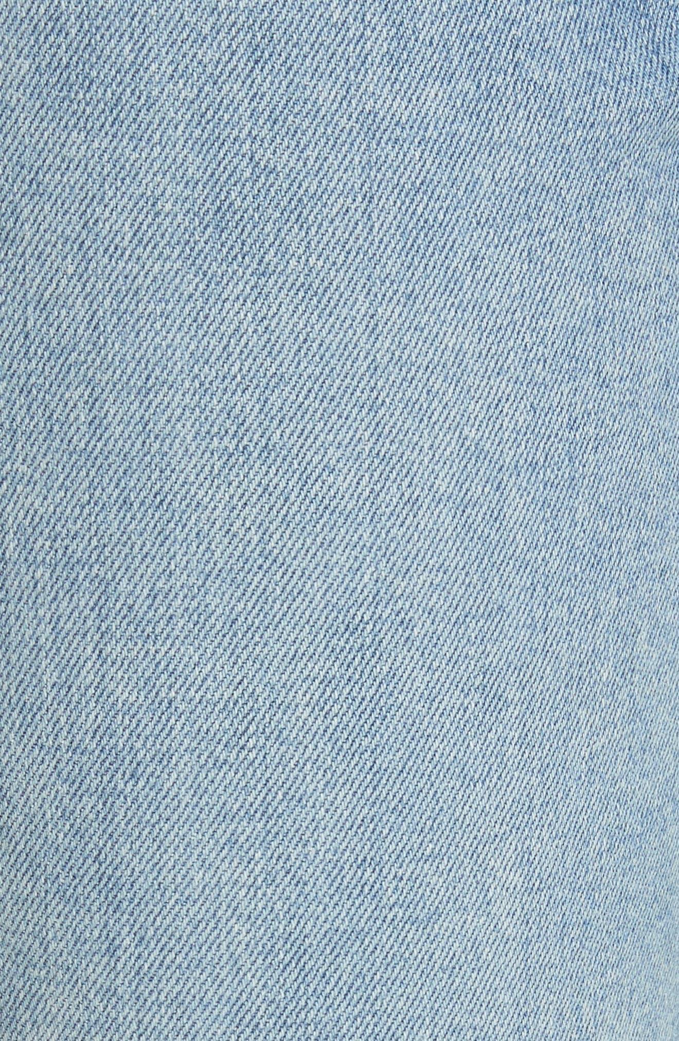 AO.LA Fabulous High Waist Baby Bootcut Jeans,                             Alternate thumbnail 5, color,
