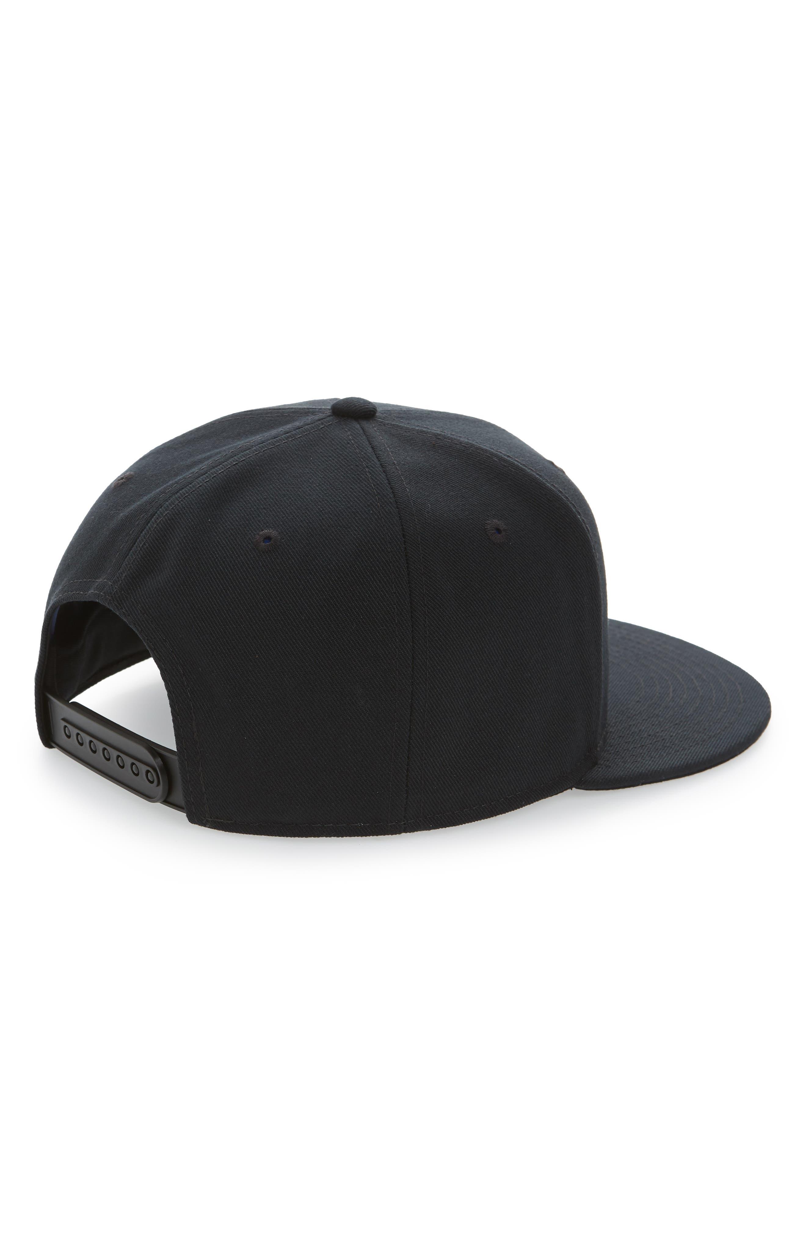 Air True Snapback Baseball Cap,                             Alternate thumbnail 2, color,                             BLACK/ LASER FUCHSIA