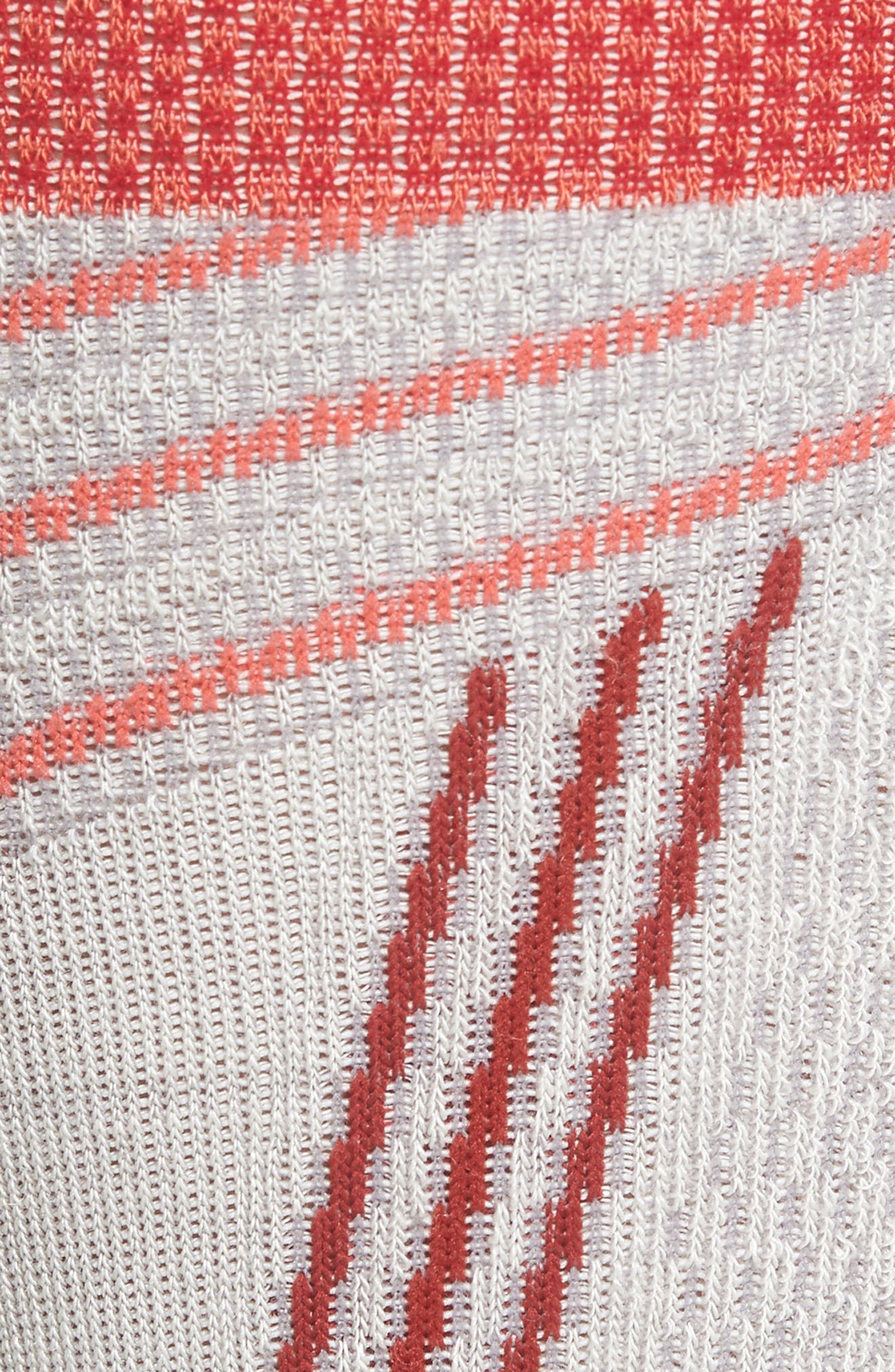 Ski Alpine Racer Compression Knee Socks,                             Alternate thumbnail 4, color,