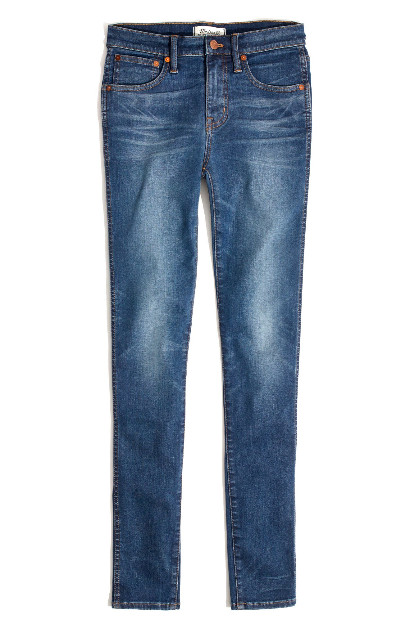 9-Inch High-Rise Skinny Jeans,                             Alternate thumbnail 3, color,                             400