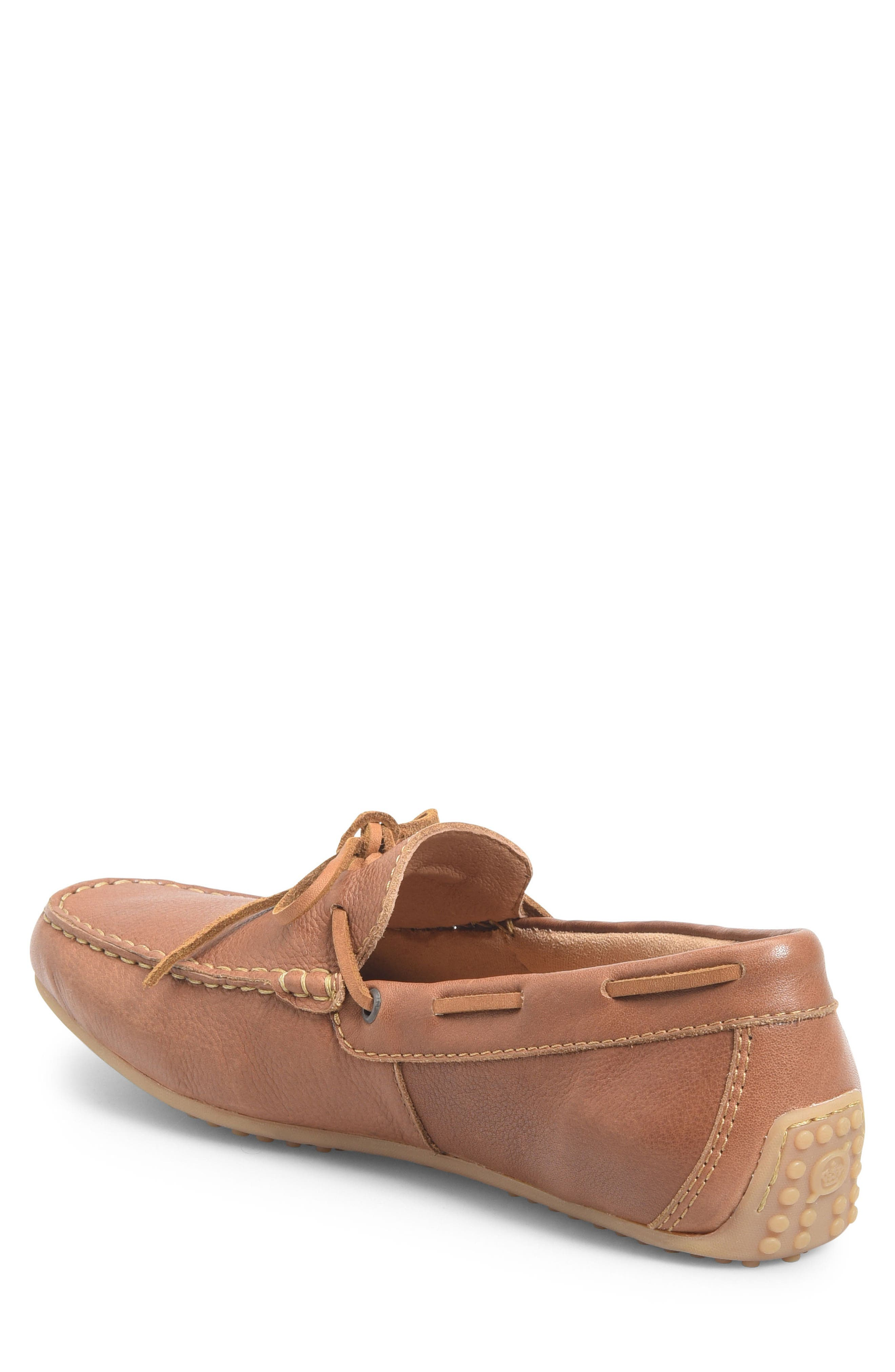 Virgo Driving Shoe,                             Alternate thumbnail 2, color,                             BROWN LEATHER