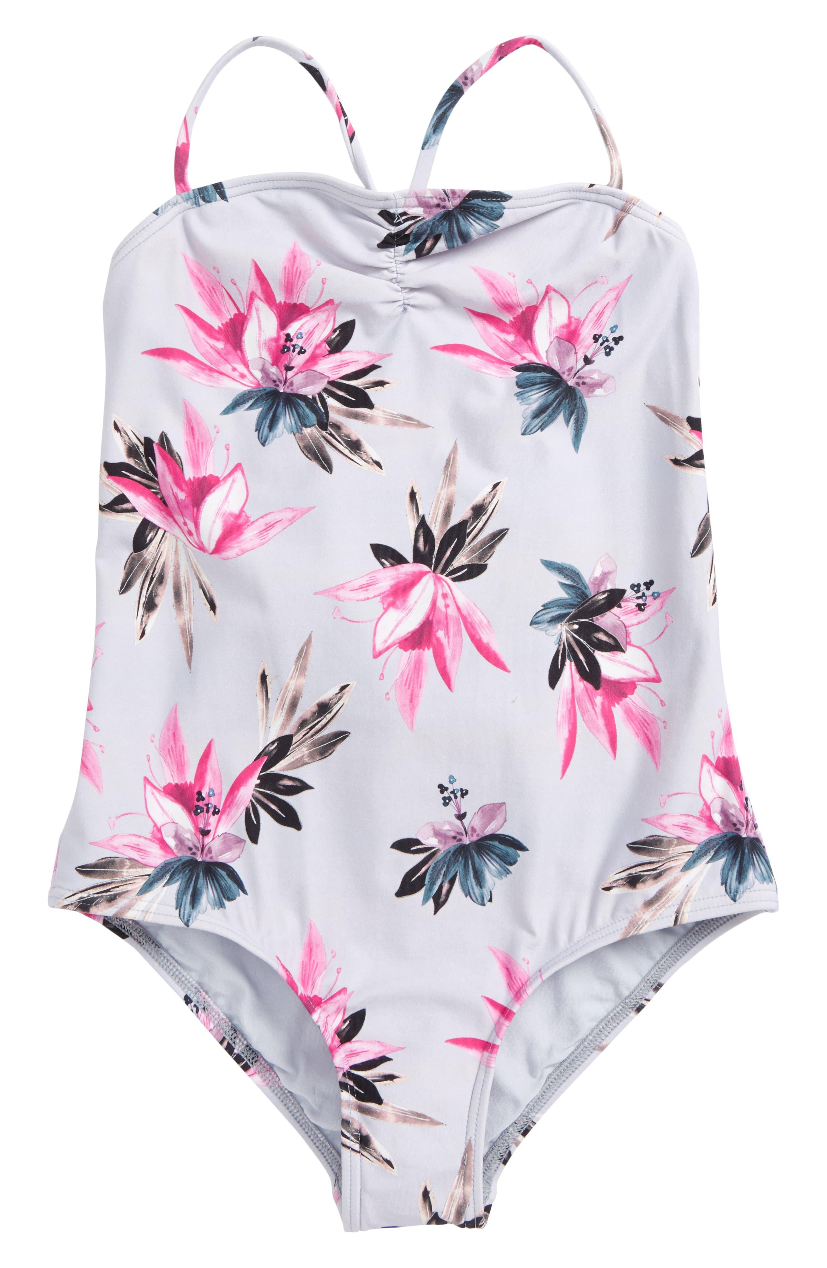 Mini Sydney One-Piece Swimsuit,                             Main thumbnail 1, color,                             450