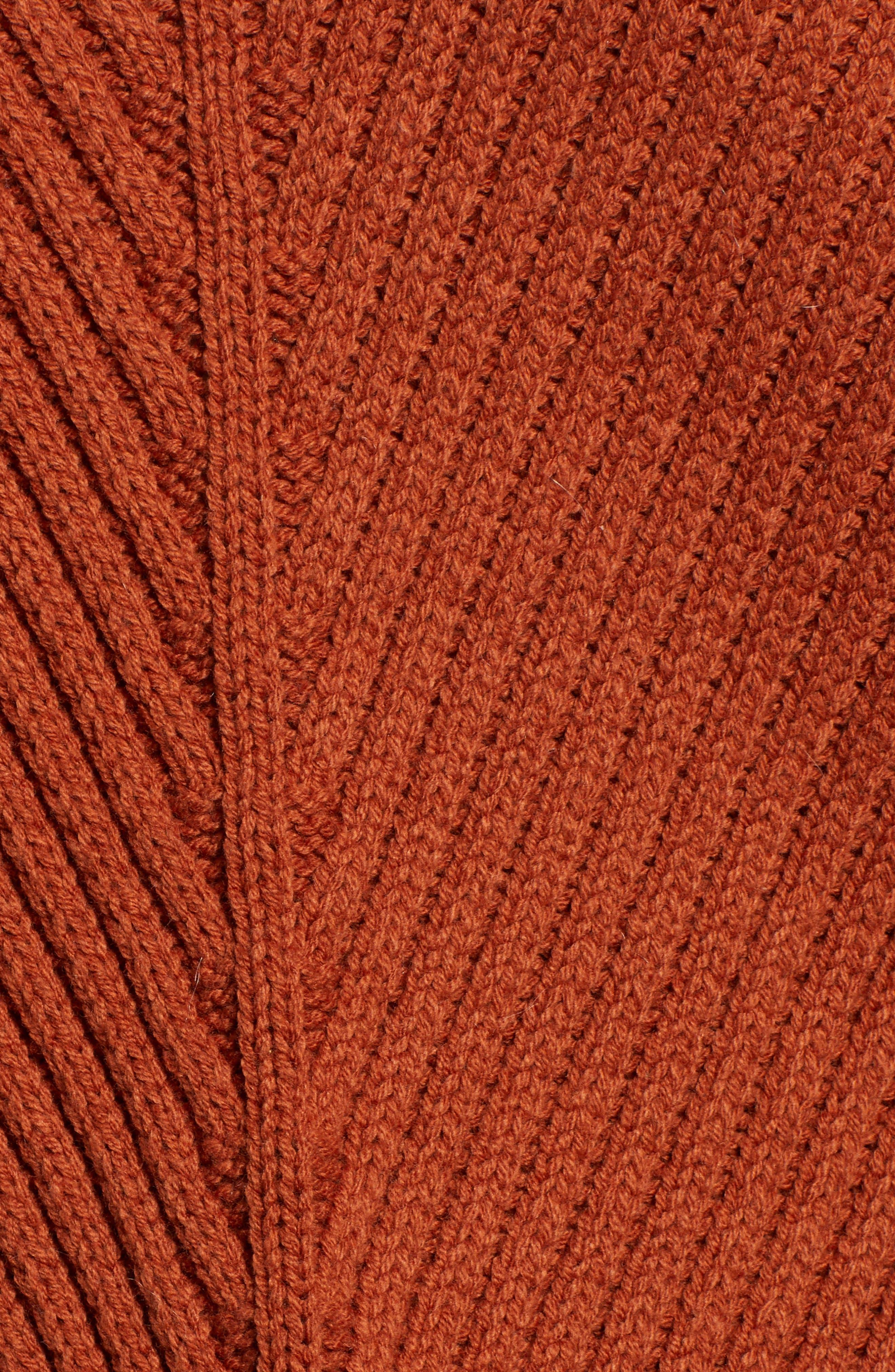 Eleanor Rib Knit Sweater,                             Alternate thumbnail 5, color,                             200