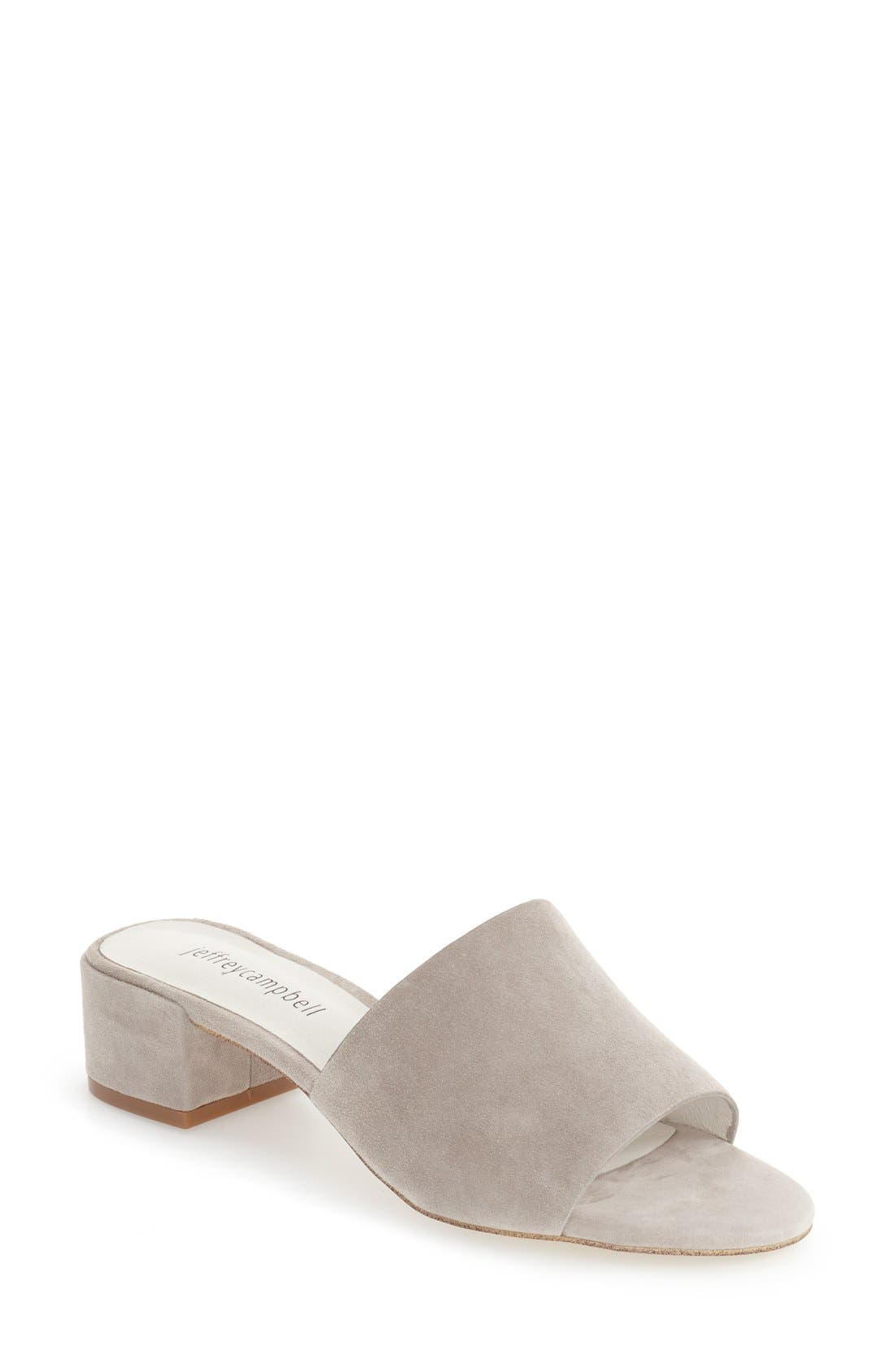 'Beaton' Slide Sandal,                             Main thumbnail 4, color,