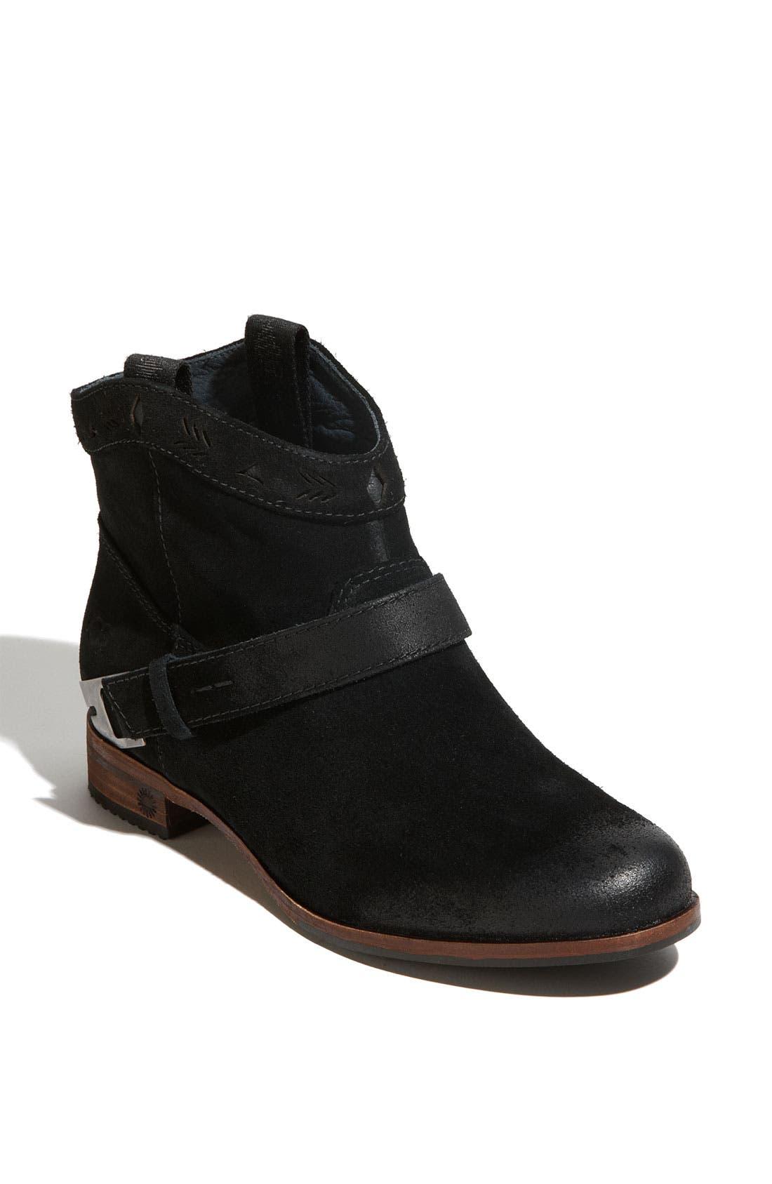 Australia 'Austin' Ankle Boot,                             Main thumbnail 1, color,                             001