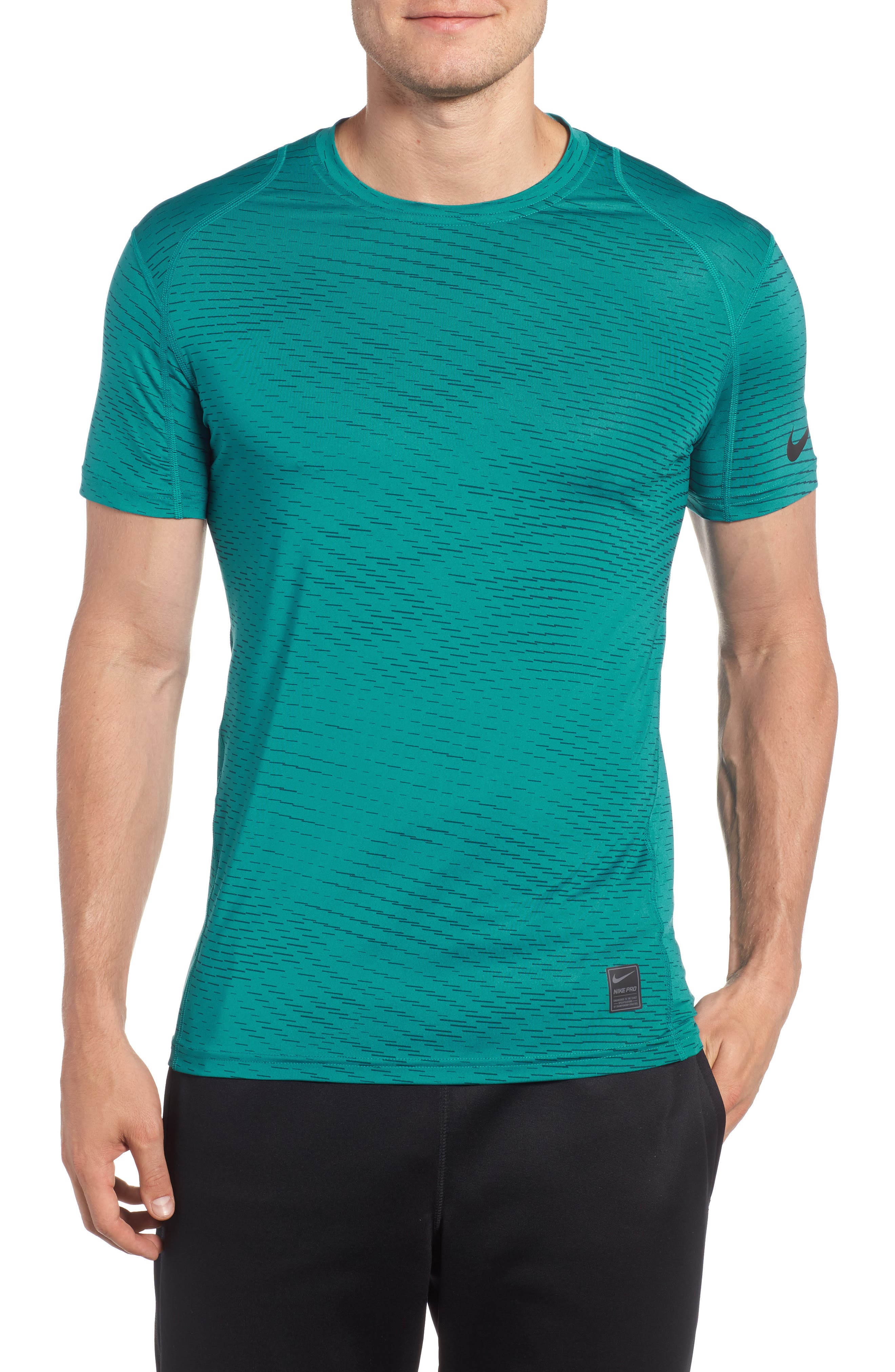 Fitted Athletic T-Shirt,                             Main thumbnail 3, color,