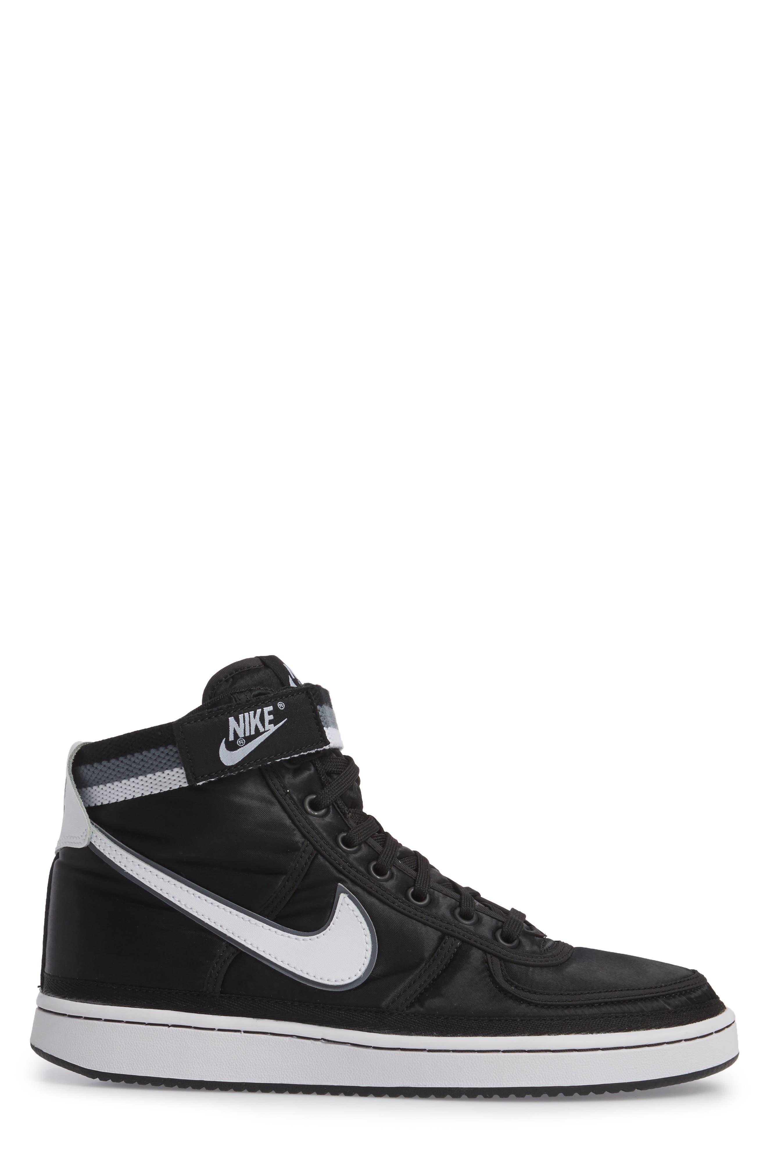 Vandal High Supreme High Top Sneaker,                             Alternate thumbnail 3, color,                             001