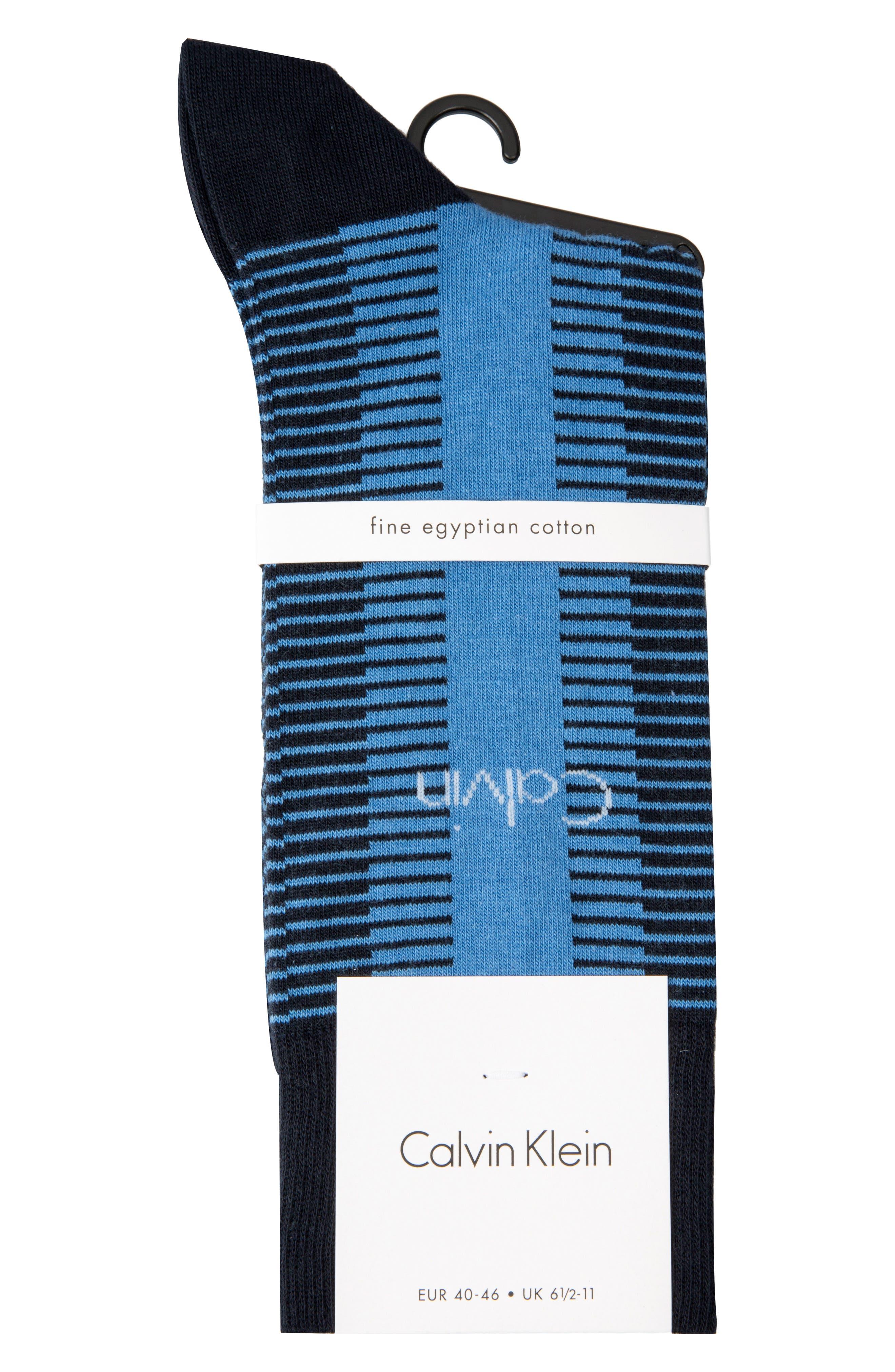 Giza Stripe Socks,                             Alternate thumbnail 2, color,                             410