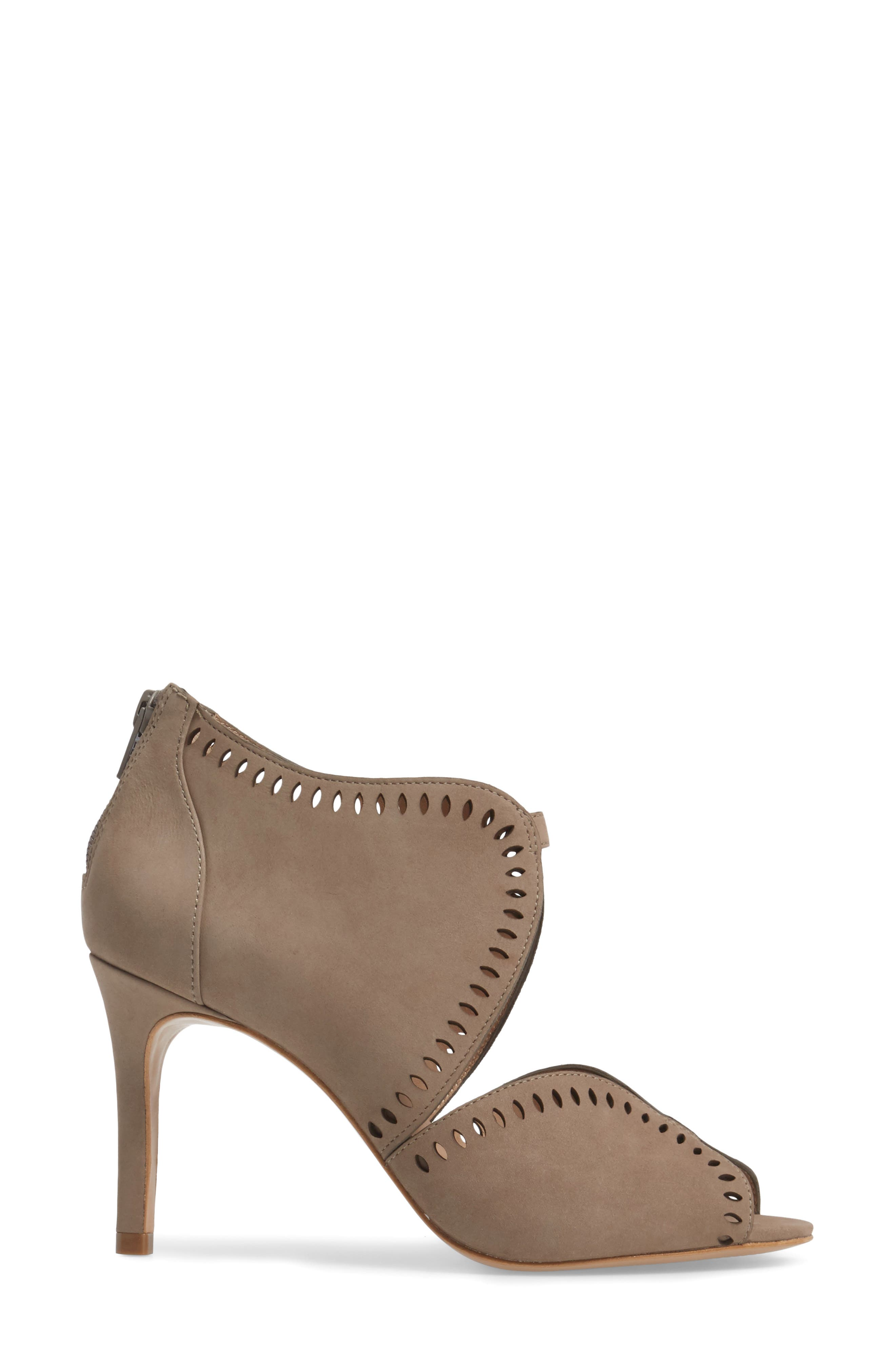 Mallia Perforated Sandal,                             Alternate thumbnail 6, color,