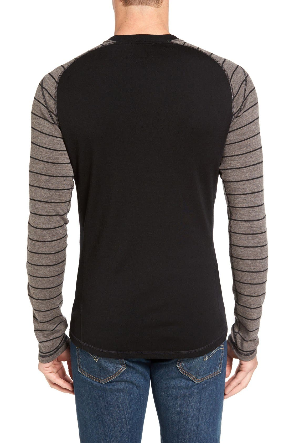 Merino 250 Base Layer Pattern Crewneck T-Shirt,                             Alternate thumbnail 23, color,