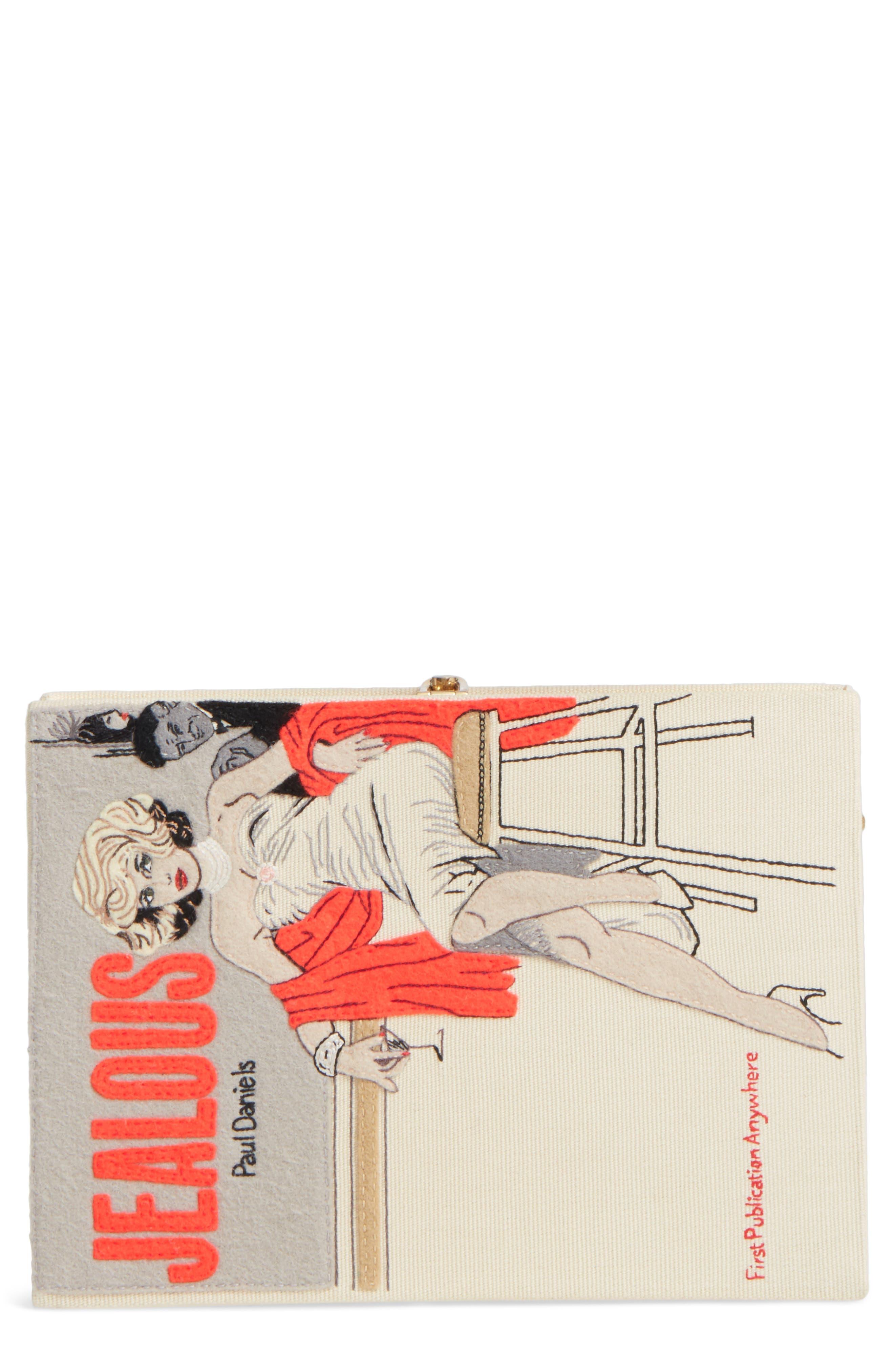 Jealous Book Clutch,                             Main thumbnail 1, color,                             900