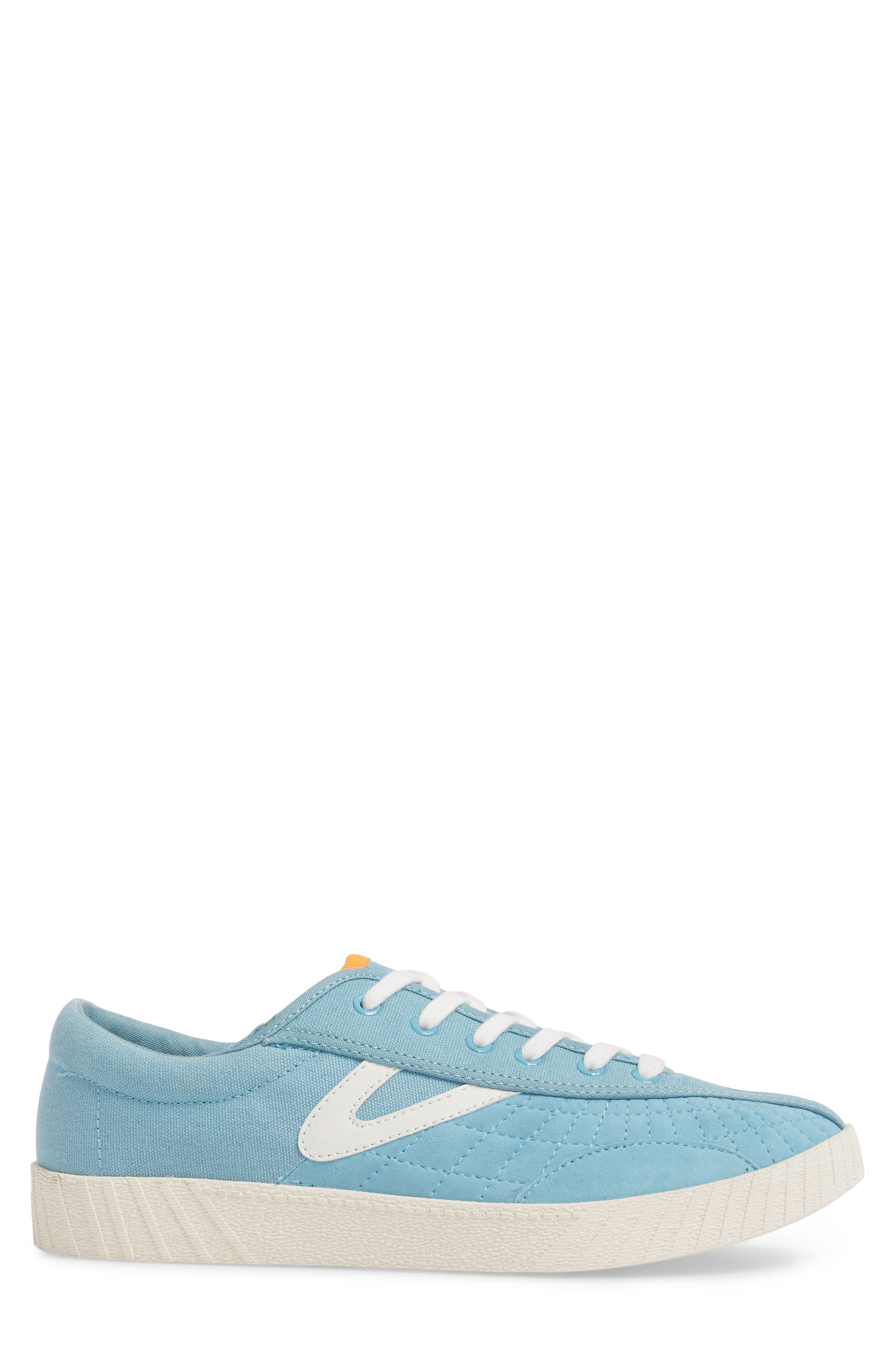 Andre 3000 Nylite Low Top Sneaker,                             Alternate thumbnail 3, color,                             BABY BLUE CANVAS
