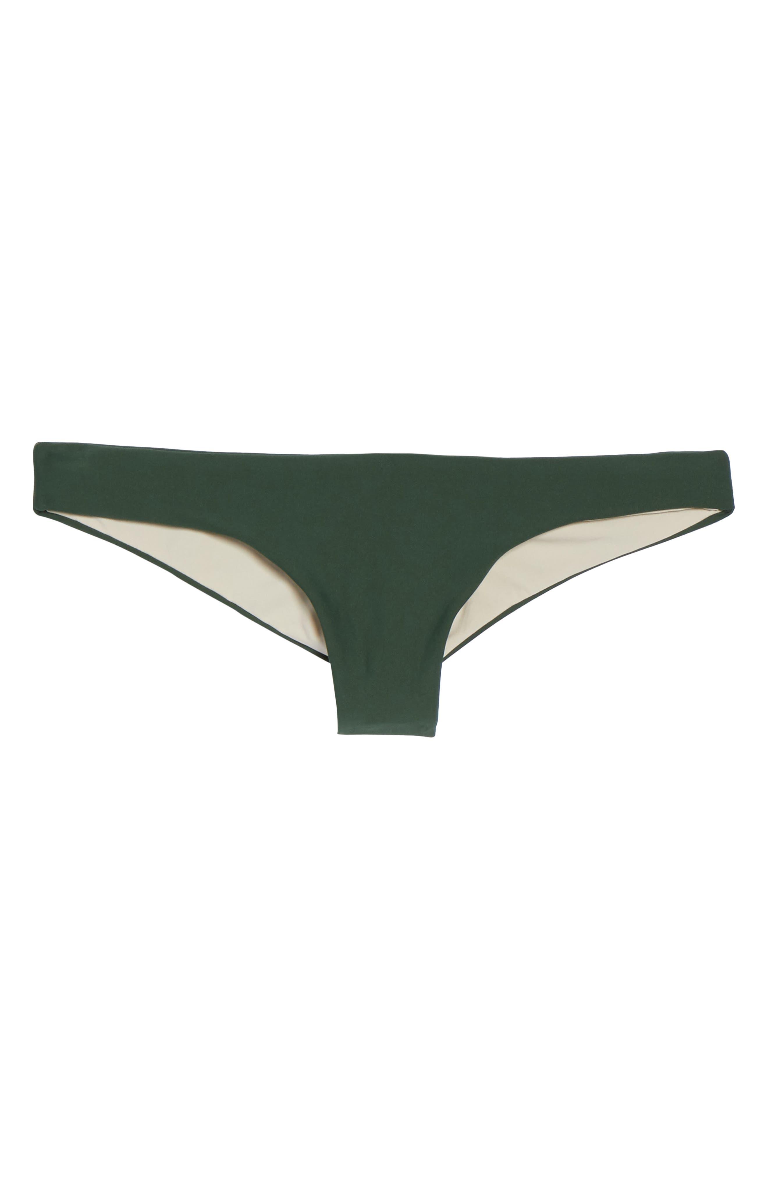 Ruched Bikini Bottoms,                             Alternate thumbnail 6, color,                             300