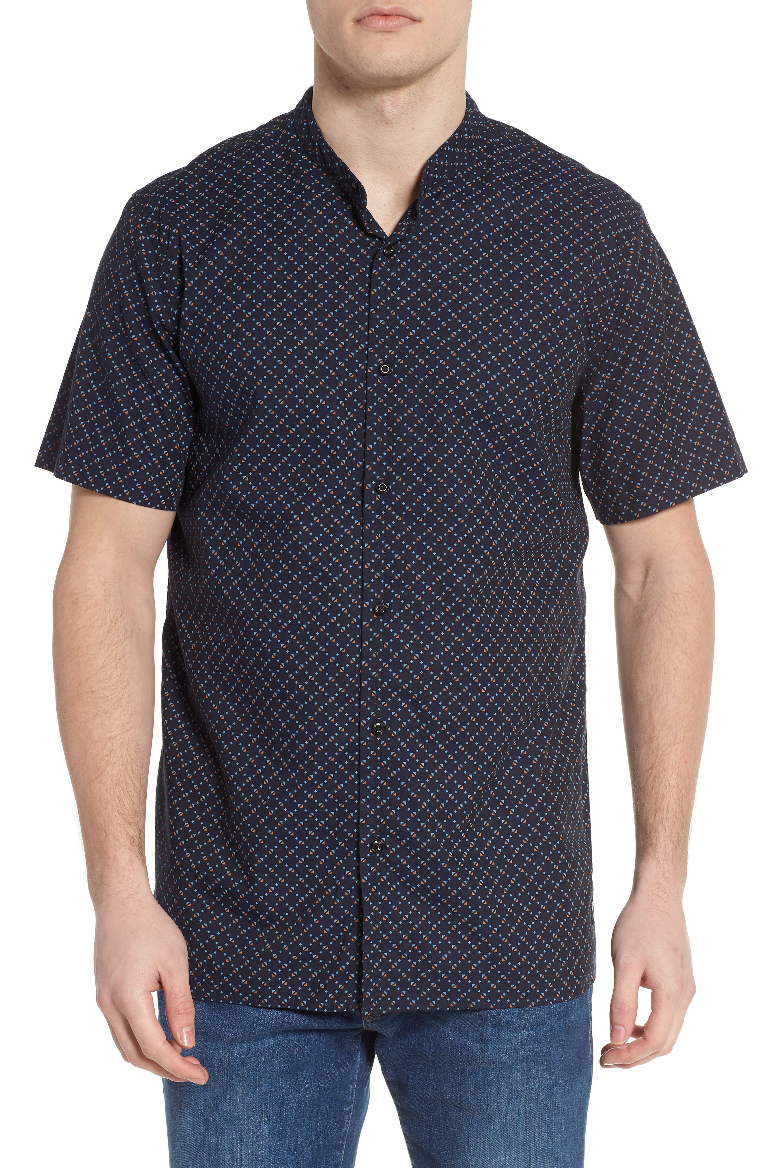Woven Oxford Shirt,                         Main,                         color, 401