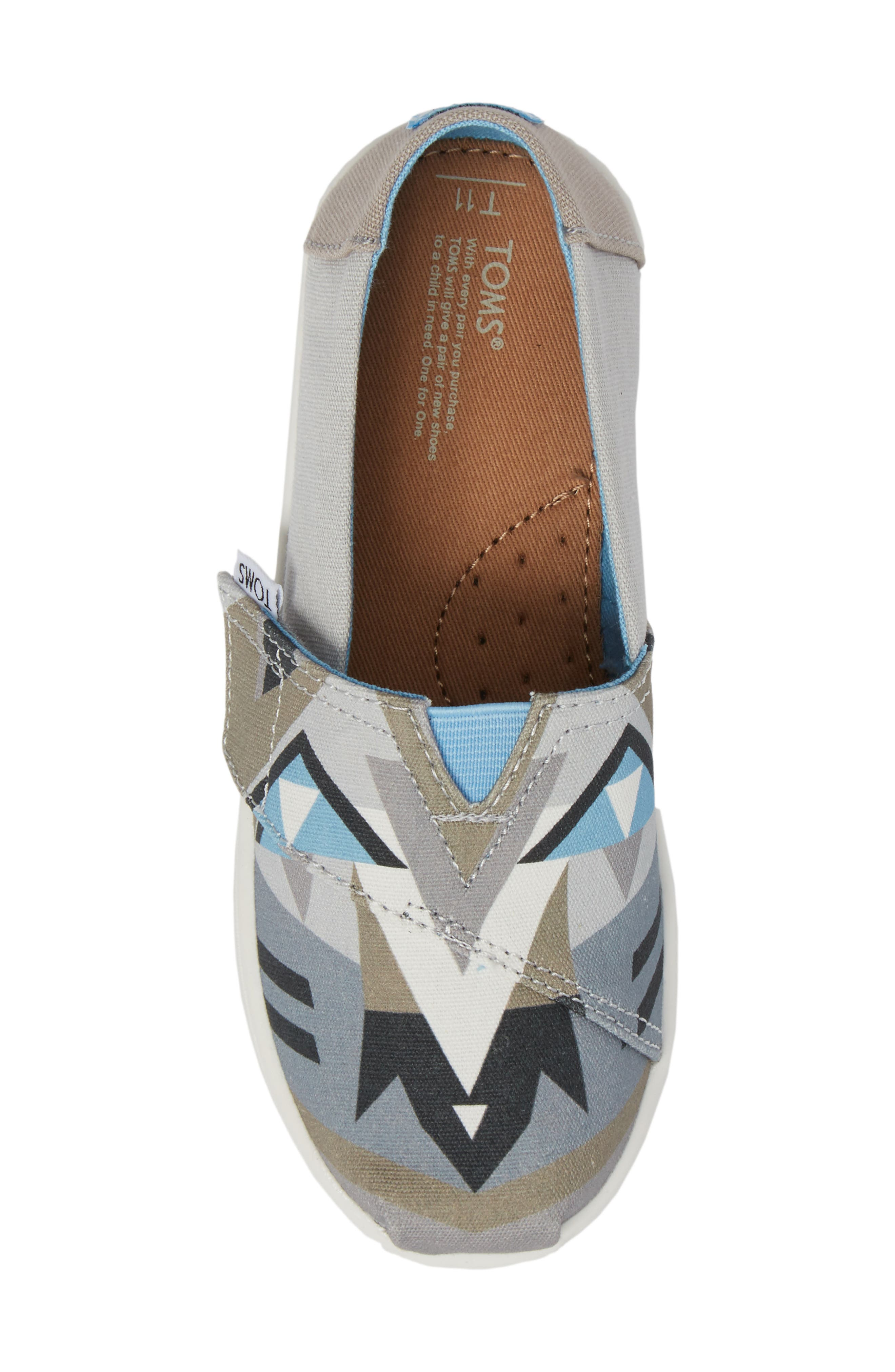 Tiny Alpargata Print Slip-On,                             Alternate thumbnail 22, color,