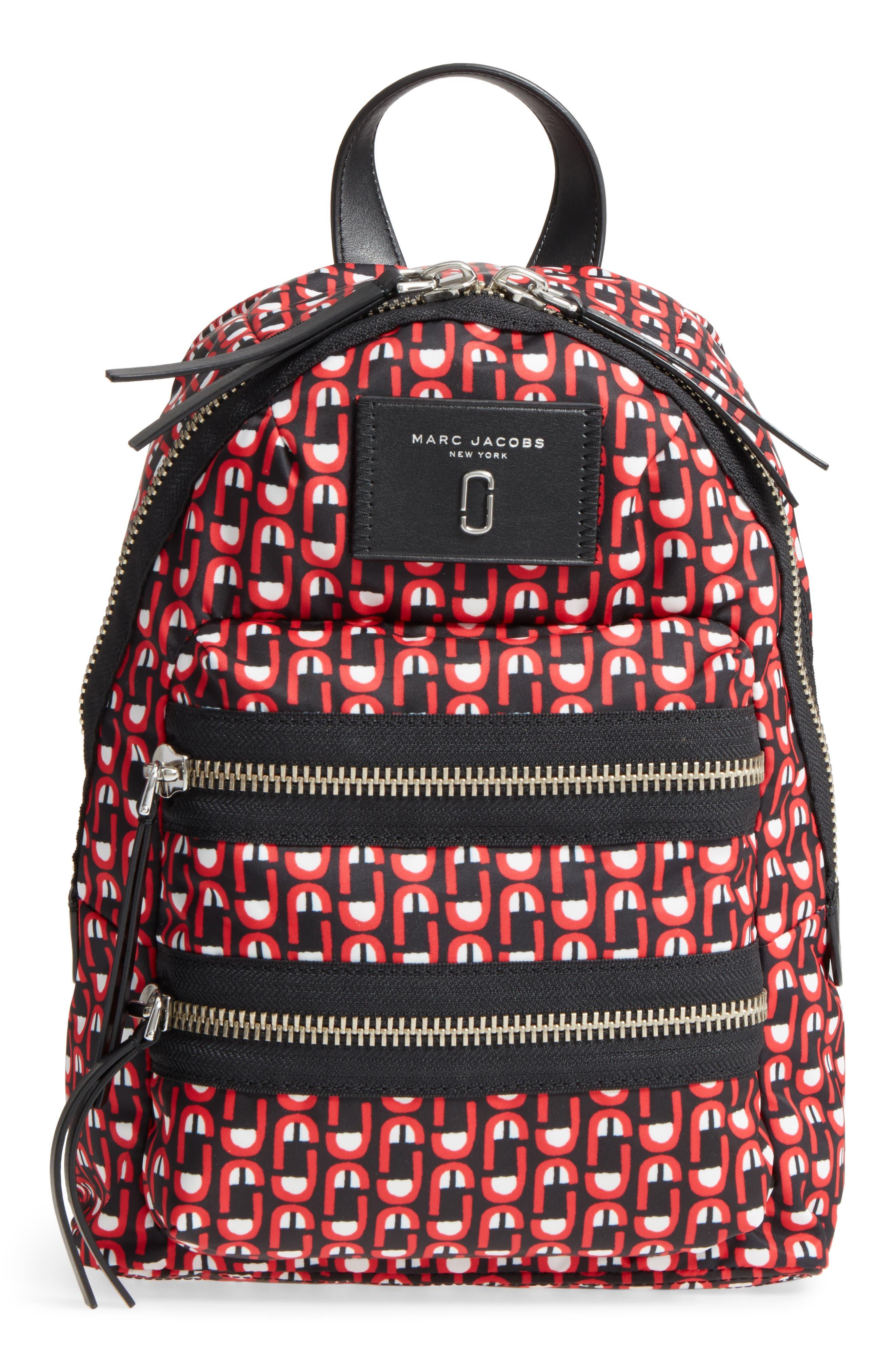 Logo Scream Mini Biker Backpack,                             Main thumbnail 1, color,                             601