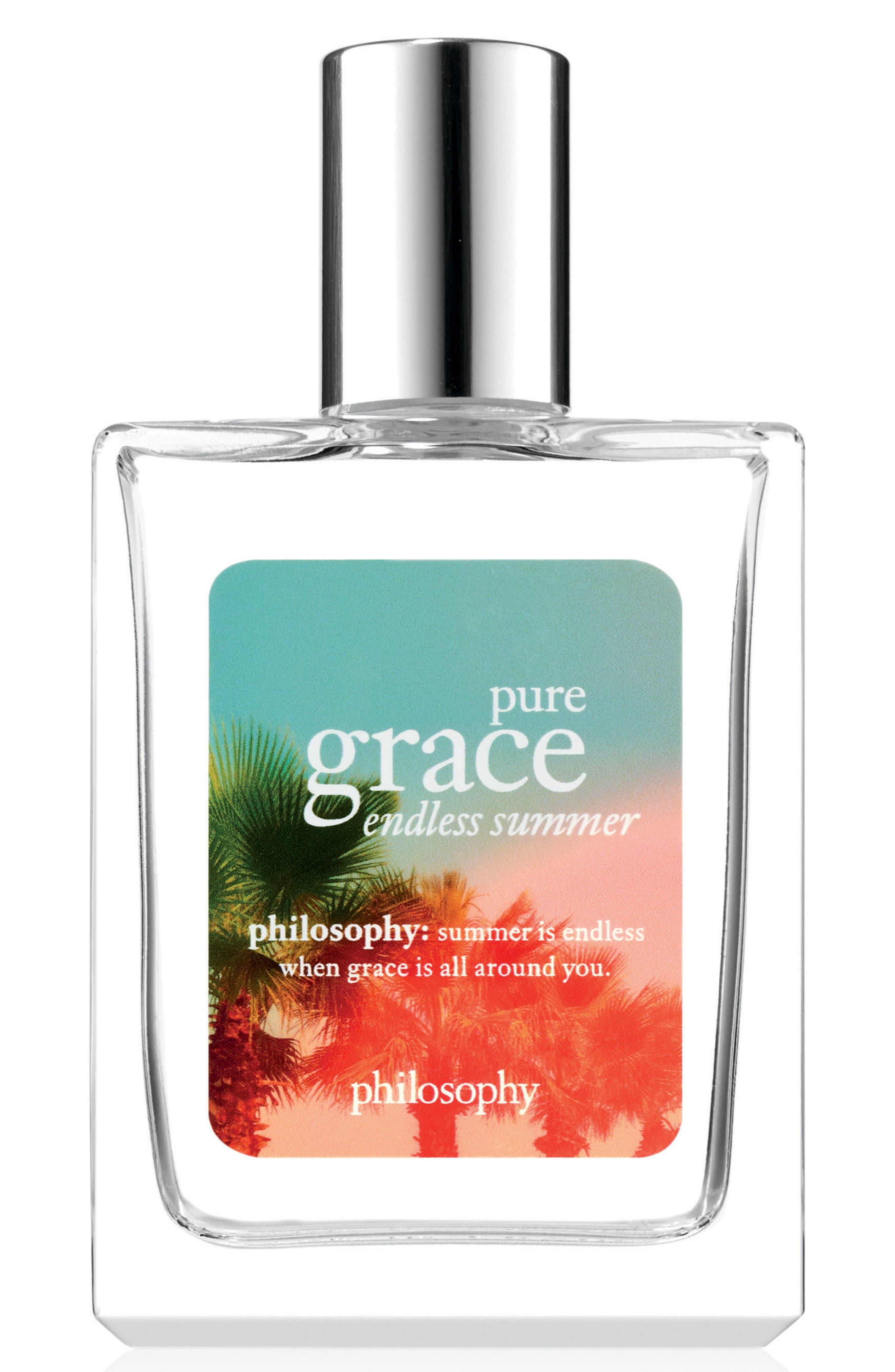 pure grace endless summer eau de toilette,                             Main thumbnail 1, color,                             NO COLOR