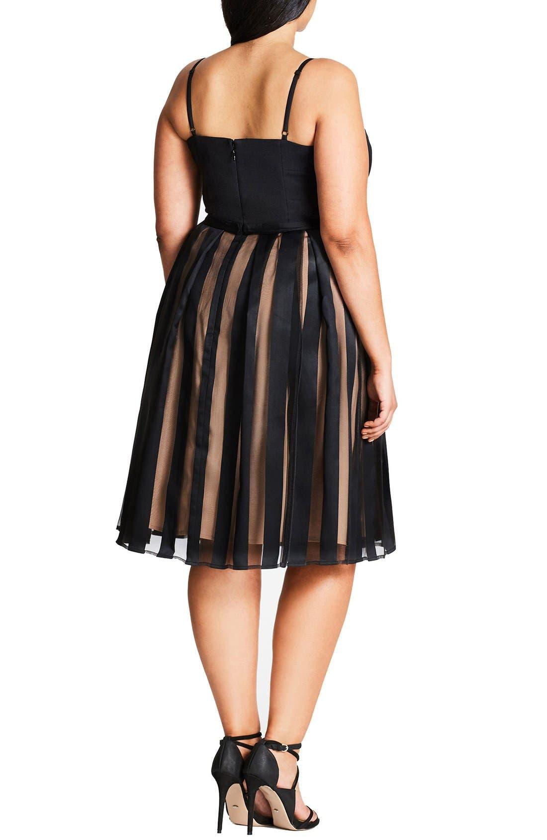 Pretty Pleat Dress,                             Alternate thumbnail 4, color,