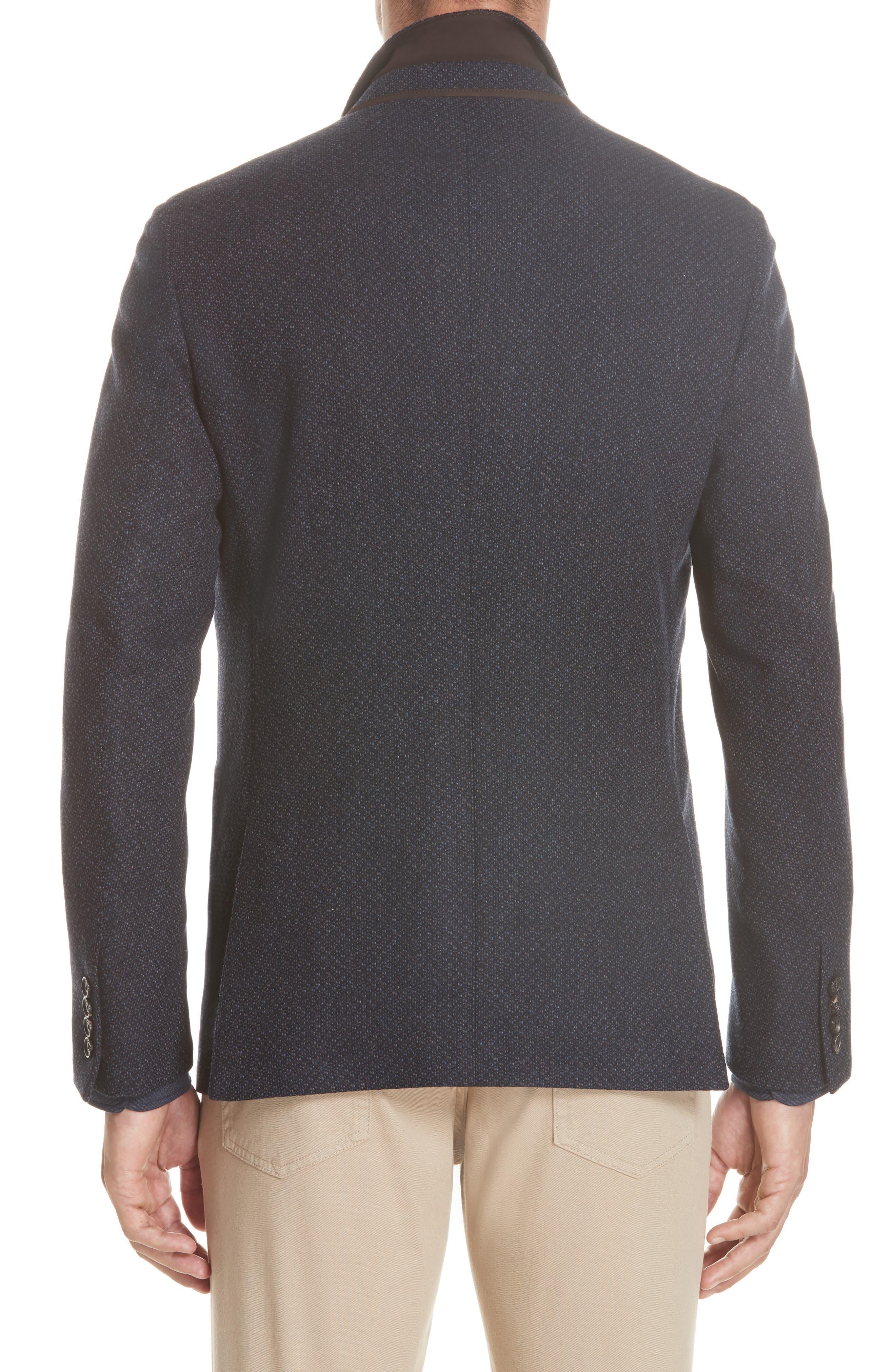 Trim Fit Wool & Cashmere Sport Coat,                             Alternate thumbnail 2, color,                             416