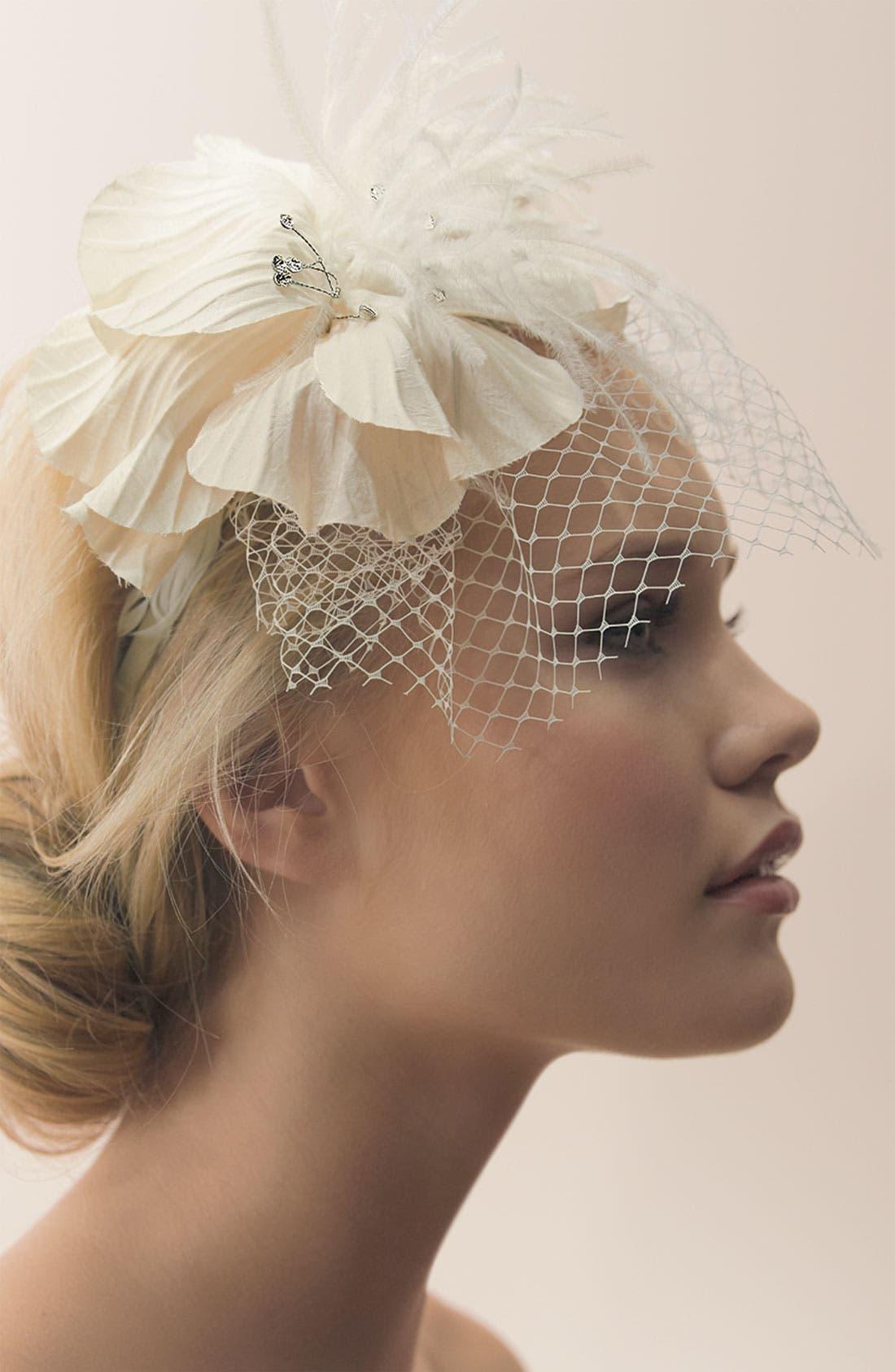 'Perfect Veil' Headband,                             Alternate thumbnail 2, color,                             900