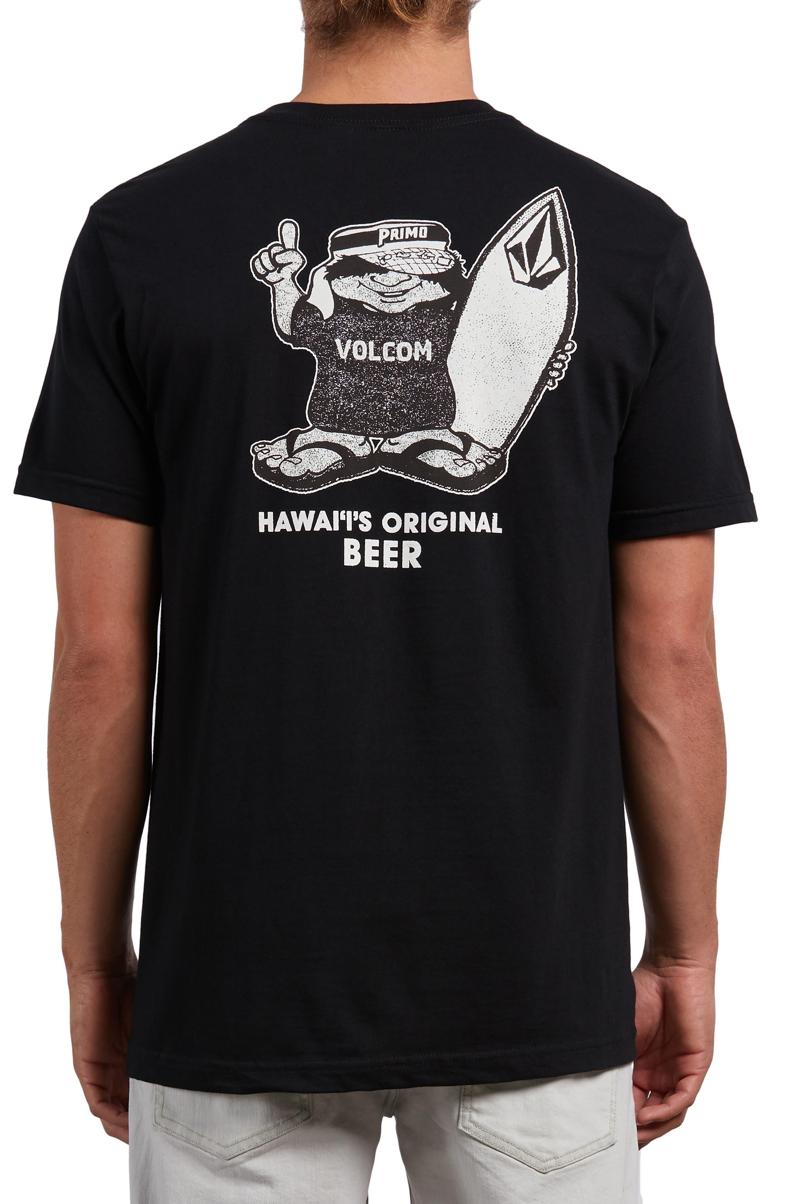 Primo Chance T-Shirt,                             Alternate thumbnail 2, color,                             BLACK