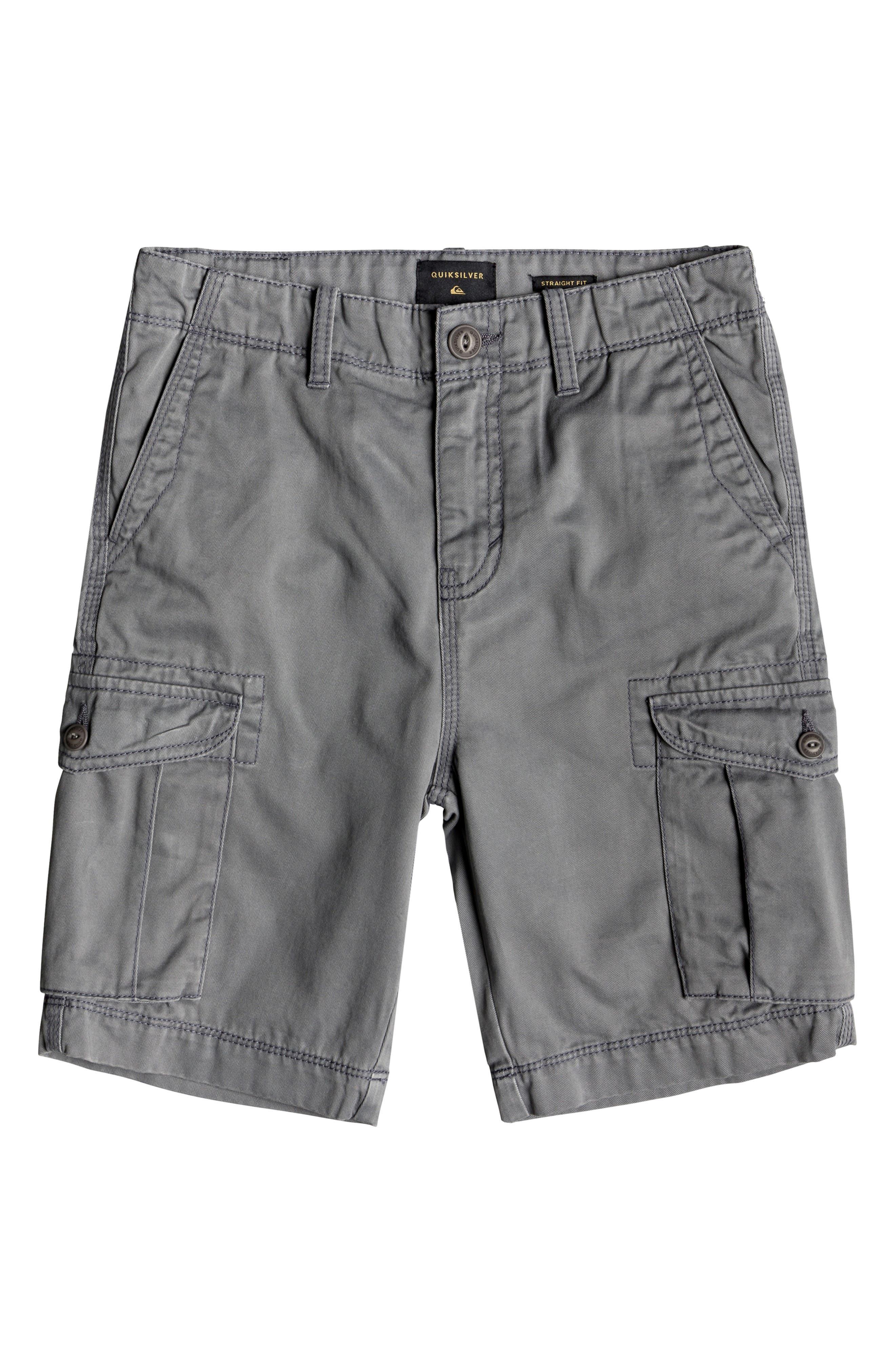 Crucial Battle Cargo Shorts,                         Main,                         color, QUIET SHADE