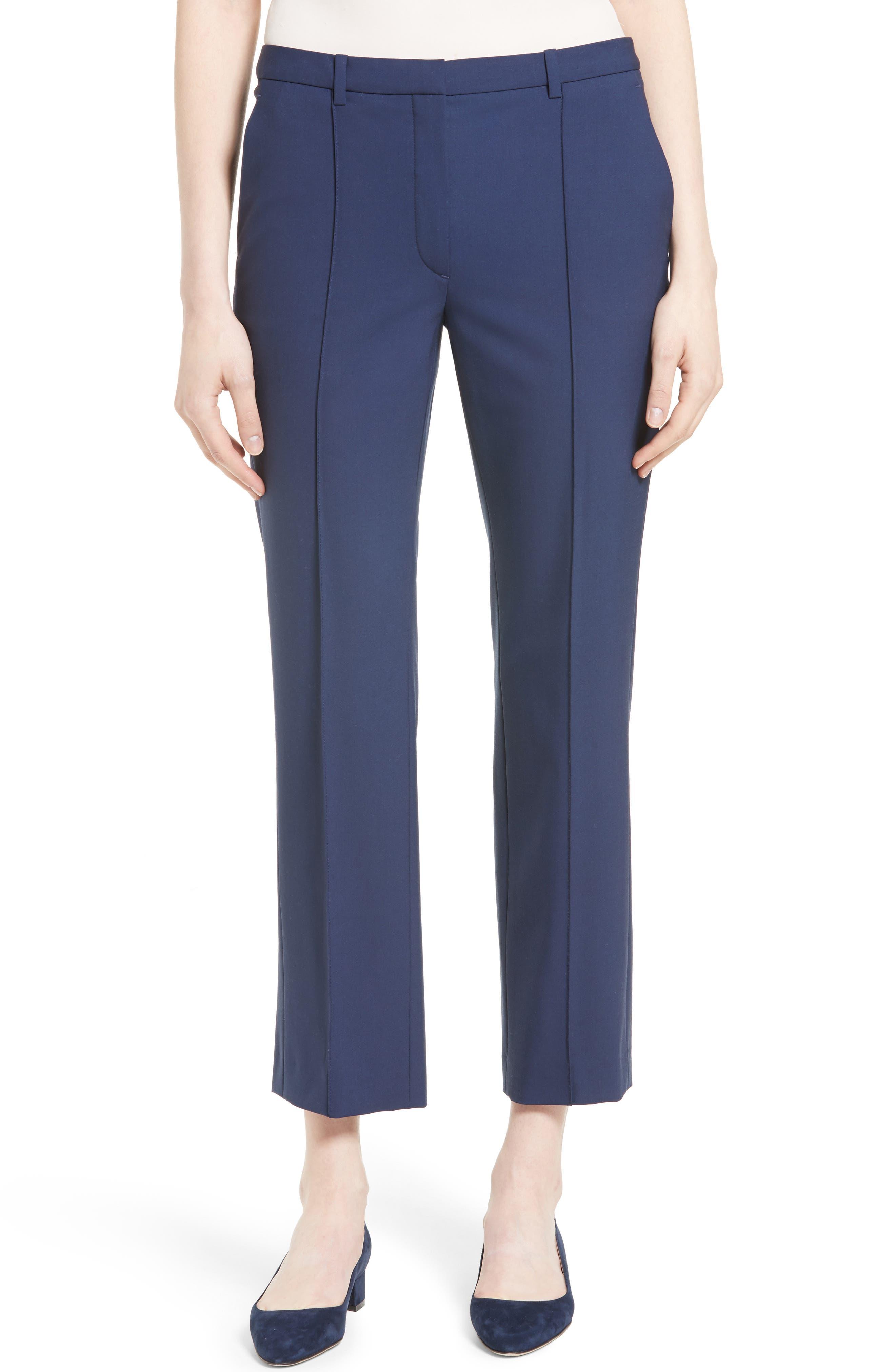 Hartsdale Good Wool Crop Pants,                             Main thumbnail 2, color,