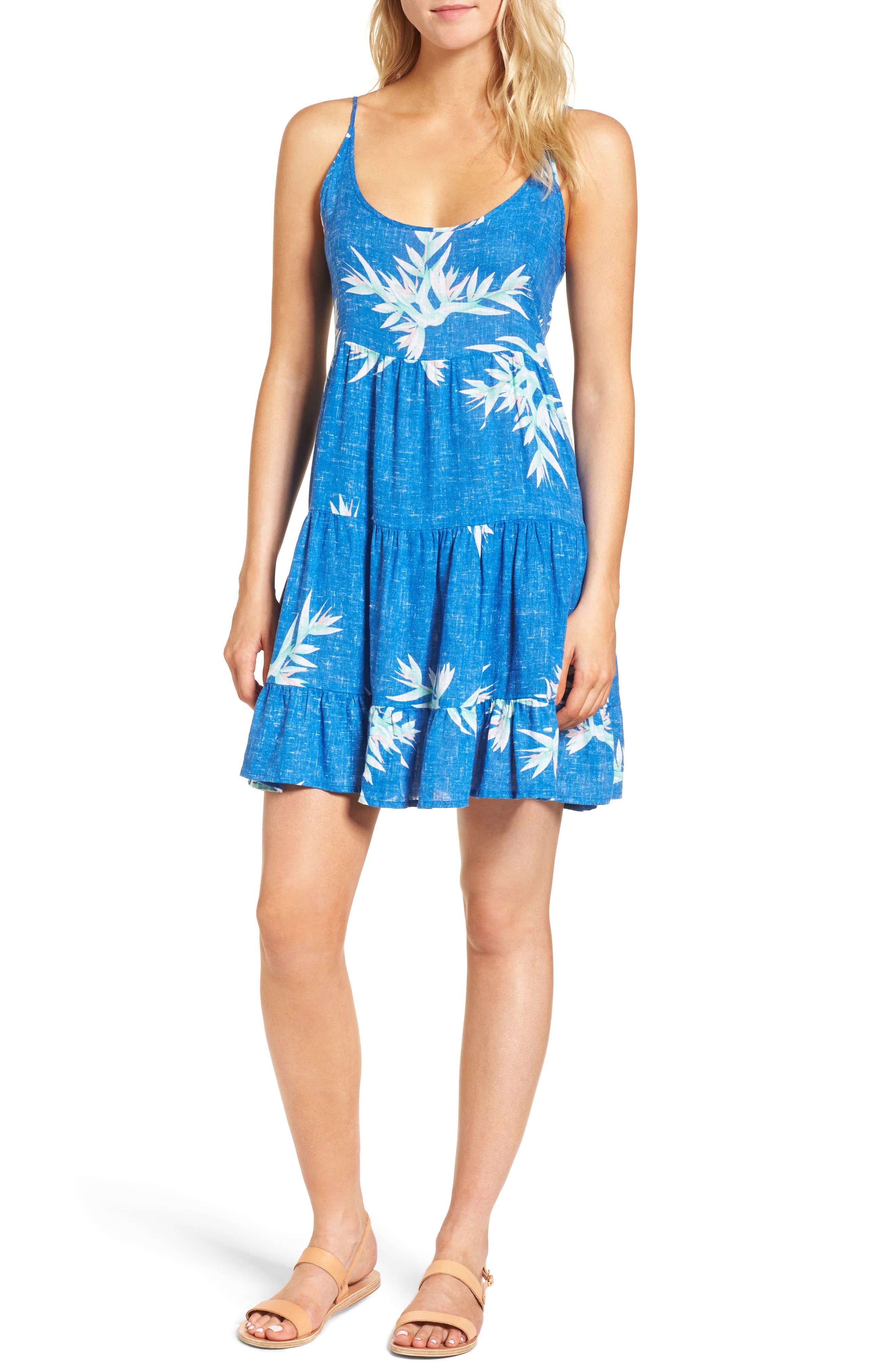 Amber Fit & Flare Dress,                             Main thumbnail 1, color,                             494
