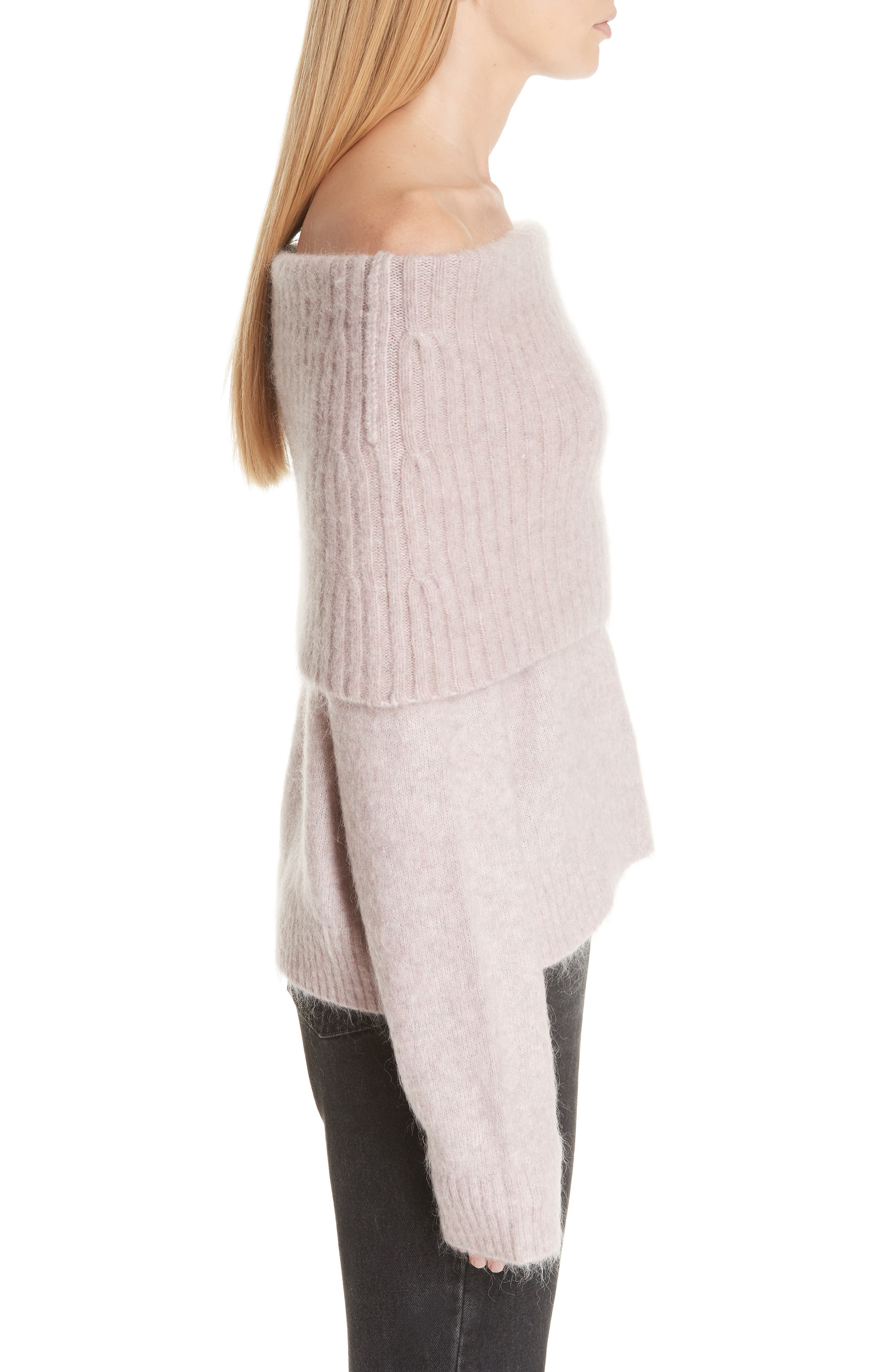 Off the Shoulder Sweater,                             Alternate thumbnail 3, color,                             650