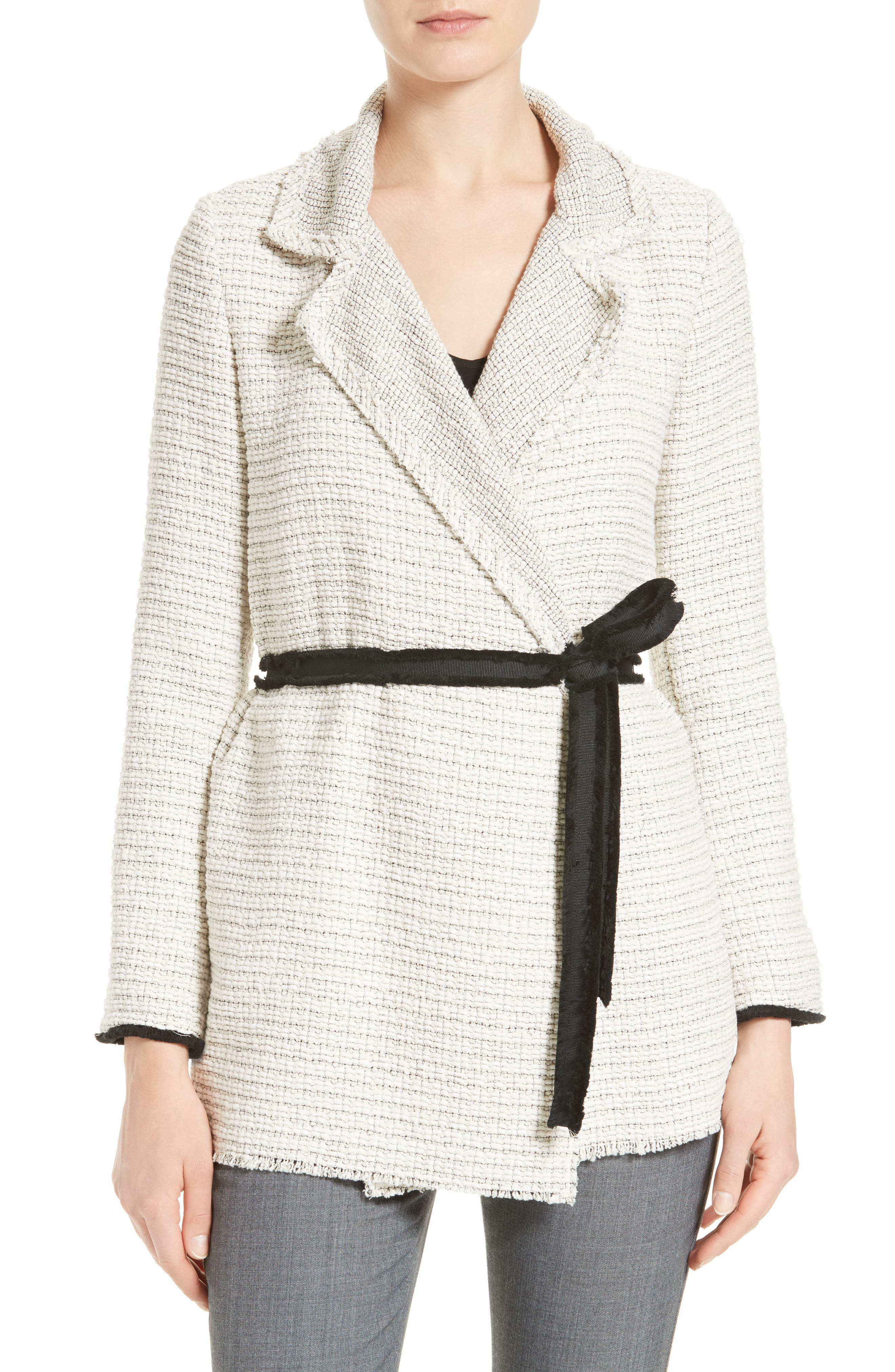Clairene Woven Jacket, Main, color, 129