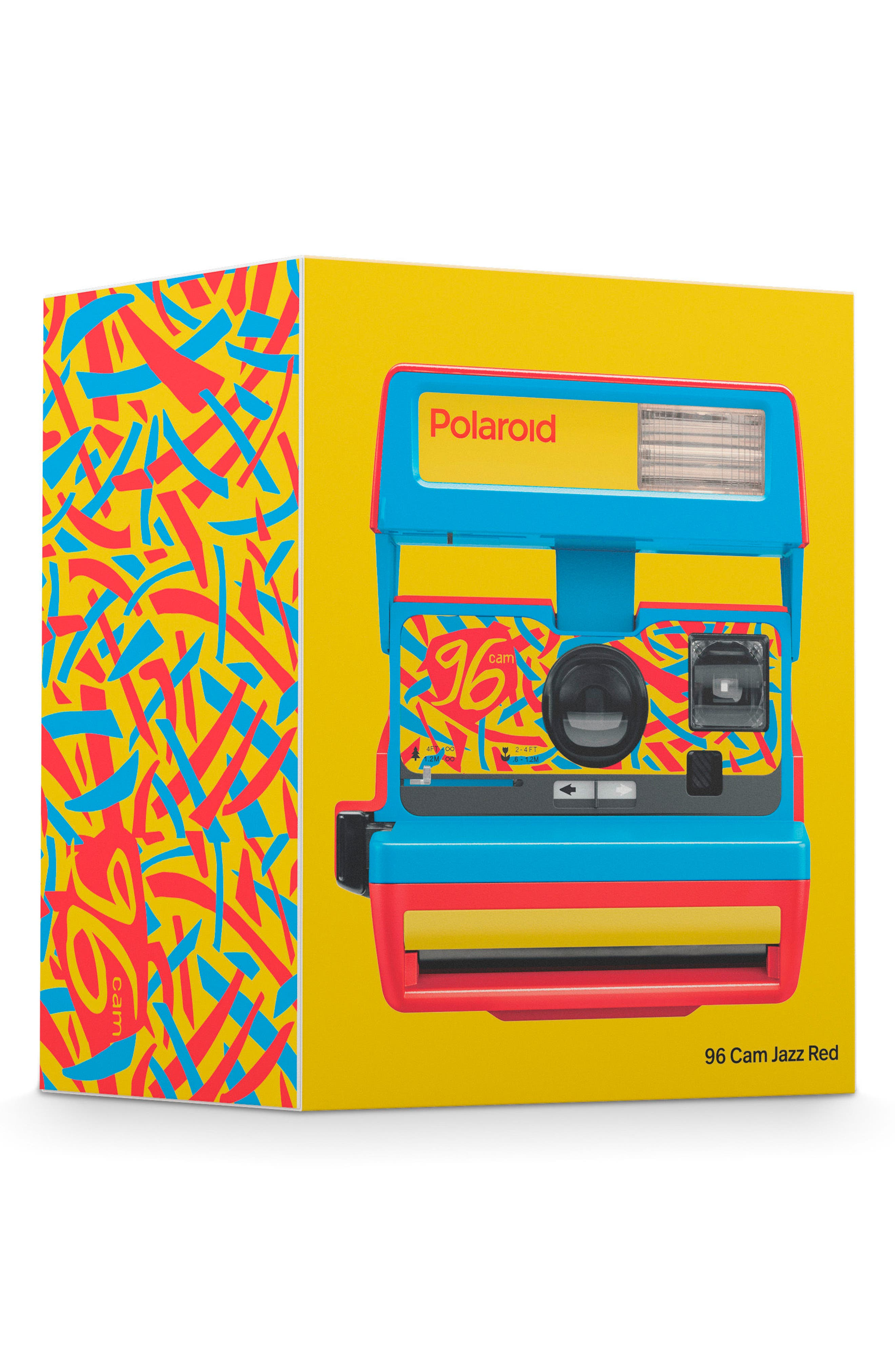 Impossible Project Polaroid 600 96 Cam Instant Camera,                             Alternate thumbnail 4, color,                             RED