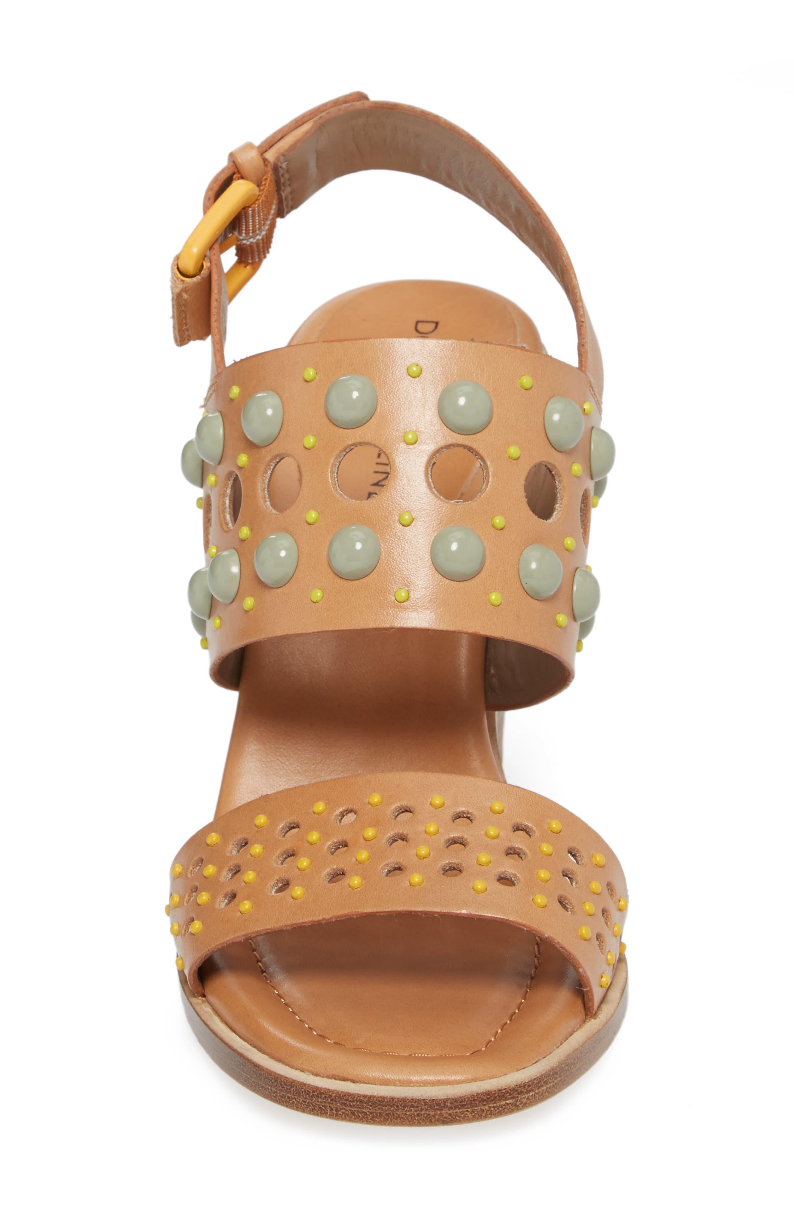 Estee Studded Sandal,                             Alternate thumbnail 8, color,