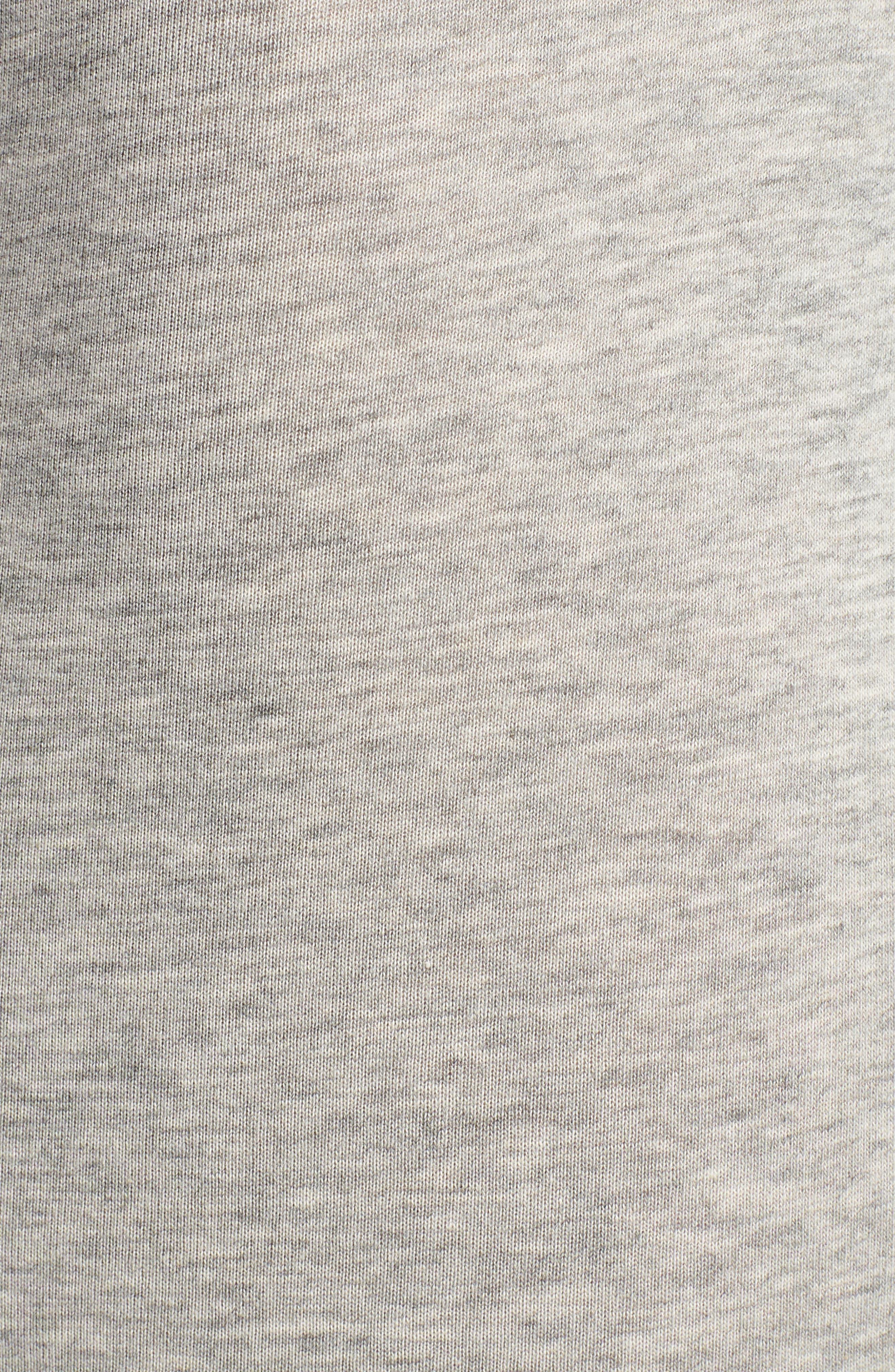 Cotton Trunks,                             Alternate thumbnail 5, color,                             GREY HEATHER/ SPICY ORANGE