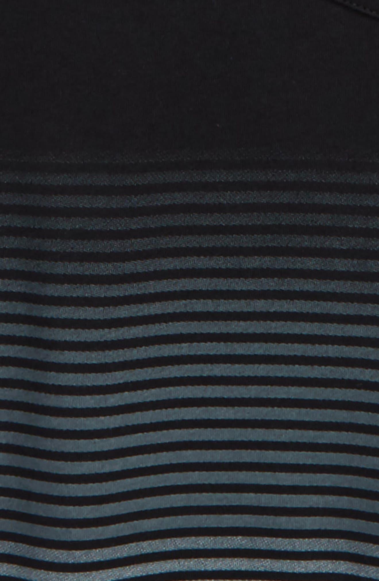 Ombré Stripe T-Shirt,                             Alternate thumbnail 2, color,                             001