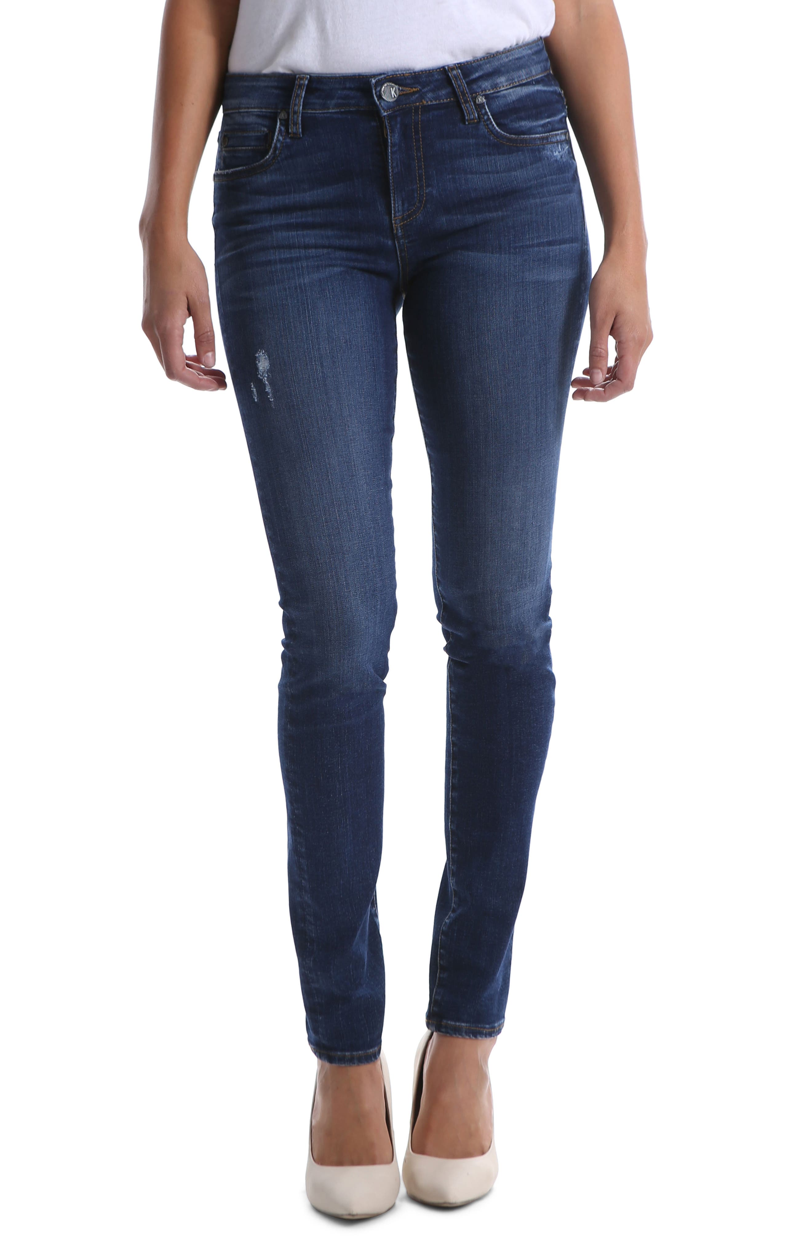 Kut From The Kloth Diana Skinny Jeans, Black