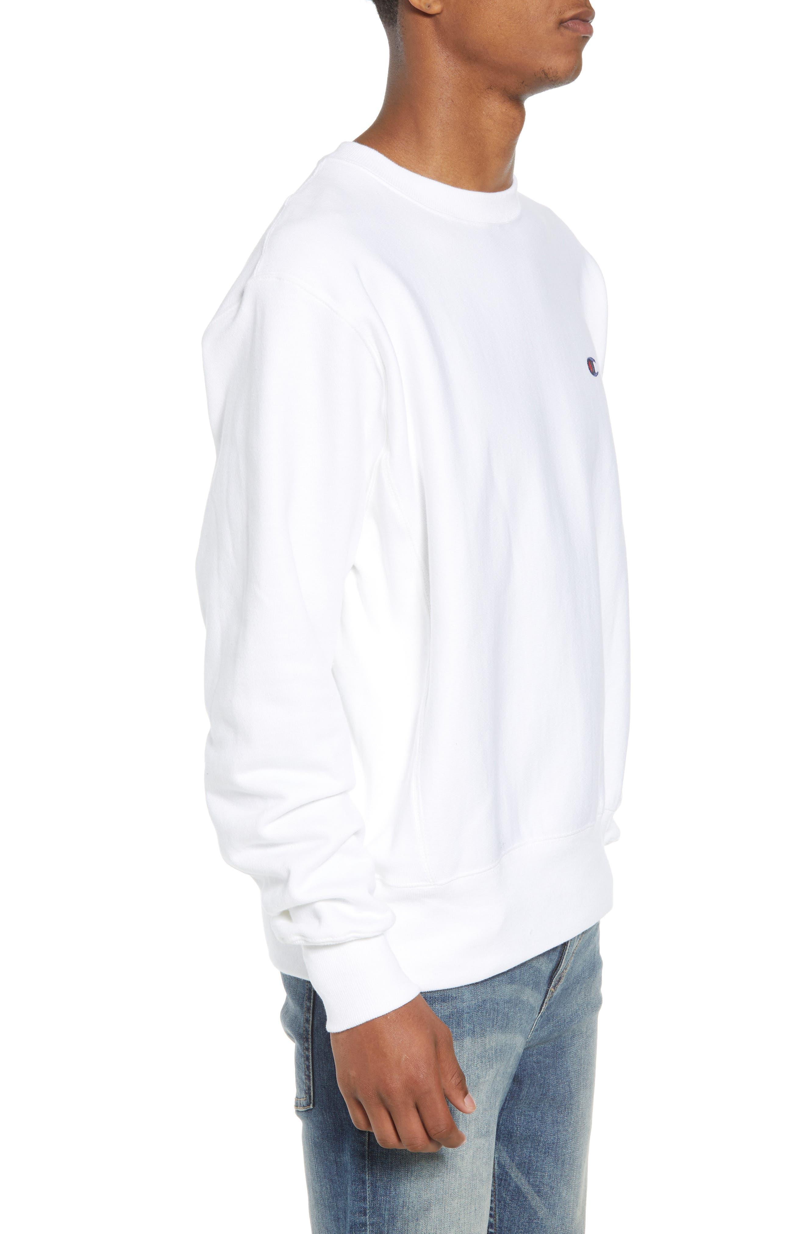 Reverse Weave Sweatshirt,                             Alternate thumbnail 18, color,